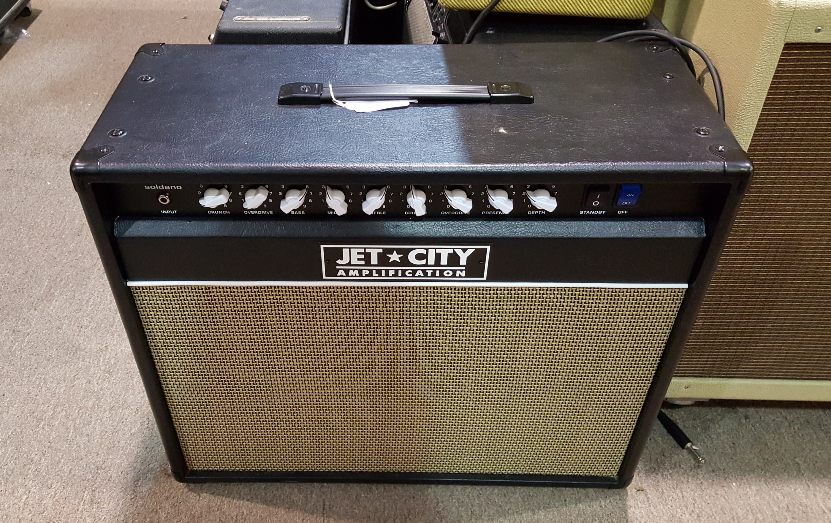 JET CITY 50 JCA5012C 50W 1x12 Tube Guitar Combo Amp - LOCAL PICKUP ONLY!