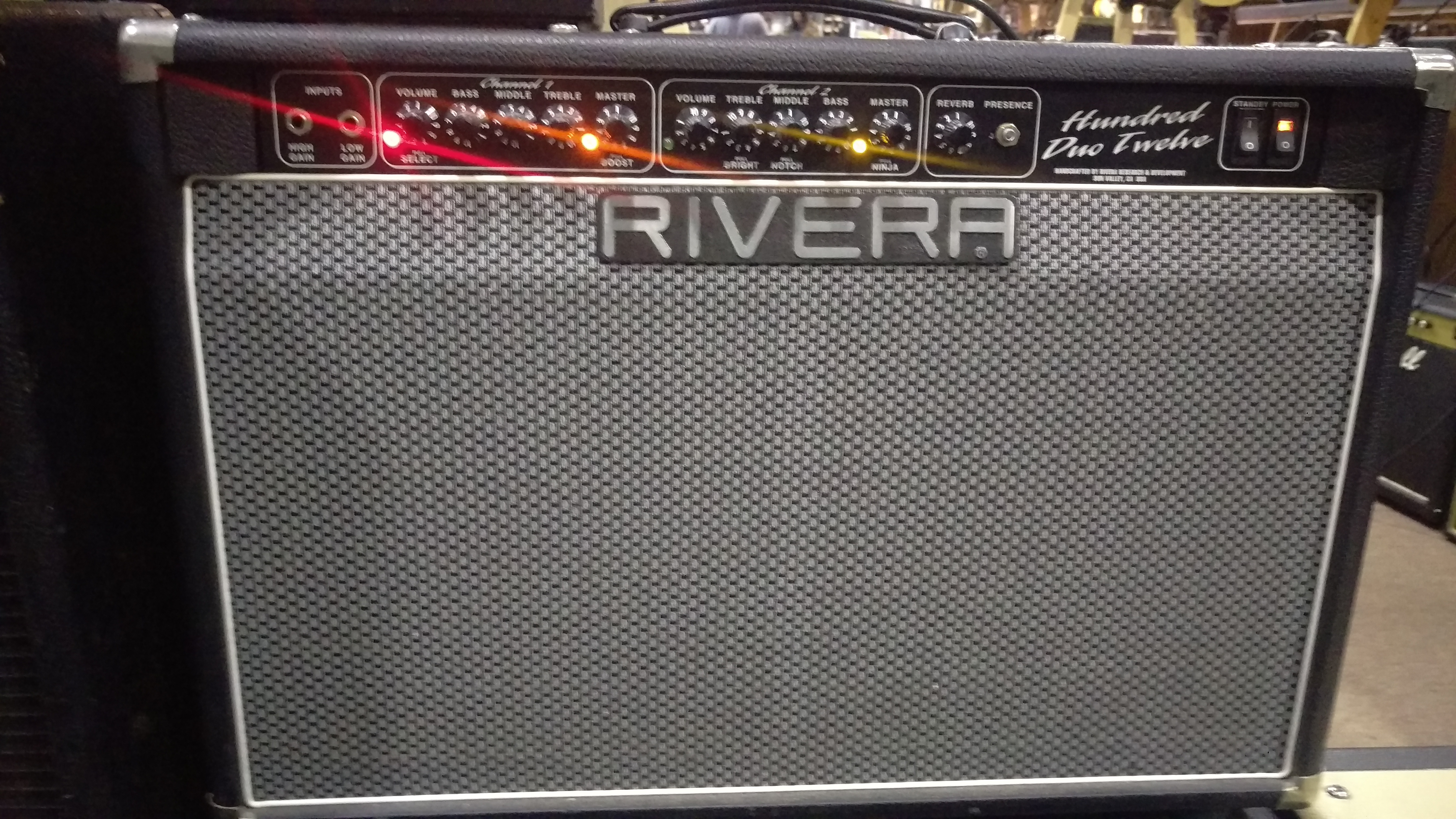Rivera Hundred Duo Twelve Combo Amp