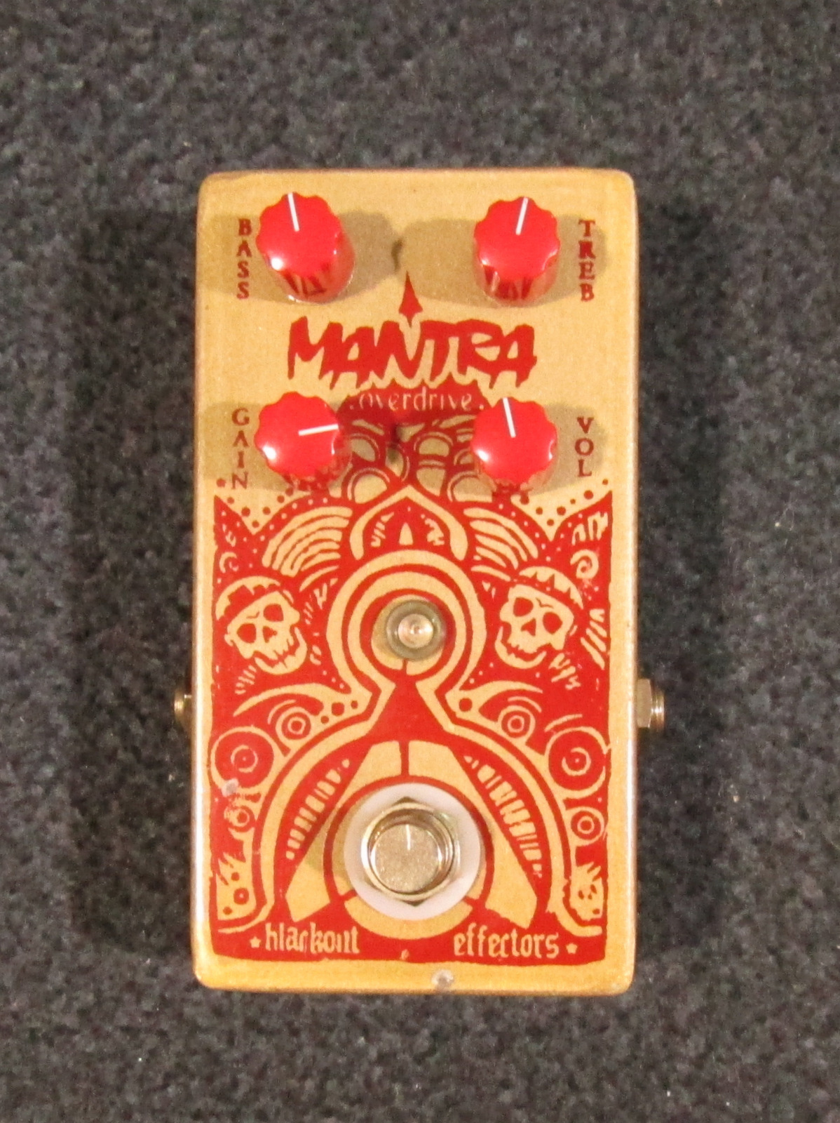 BLACKOUT EFFECTORS MANTRA OVERDRIVE EFFECT PEDAL