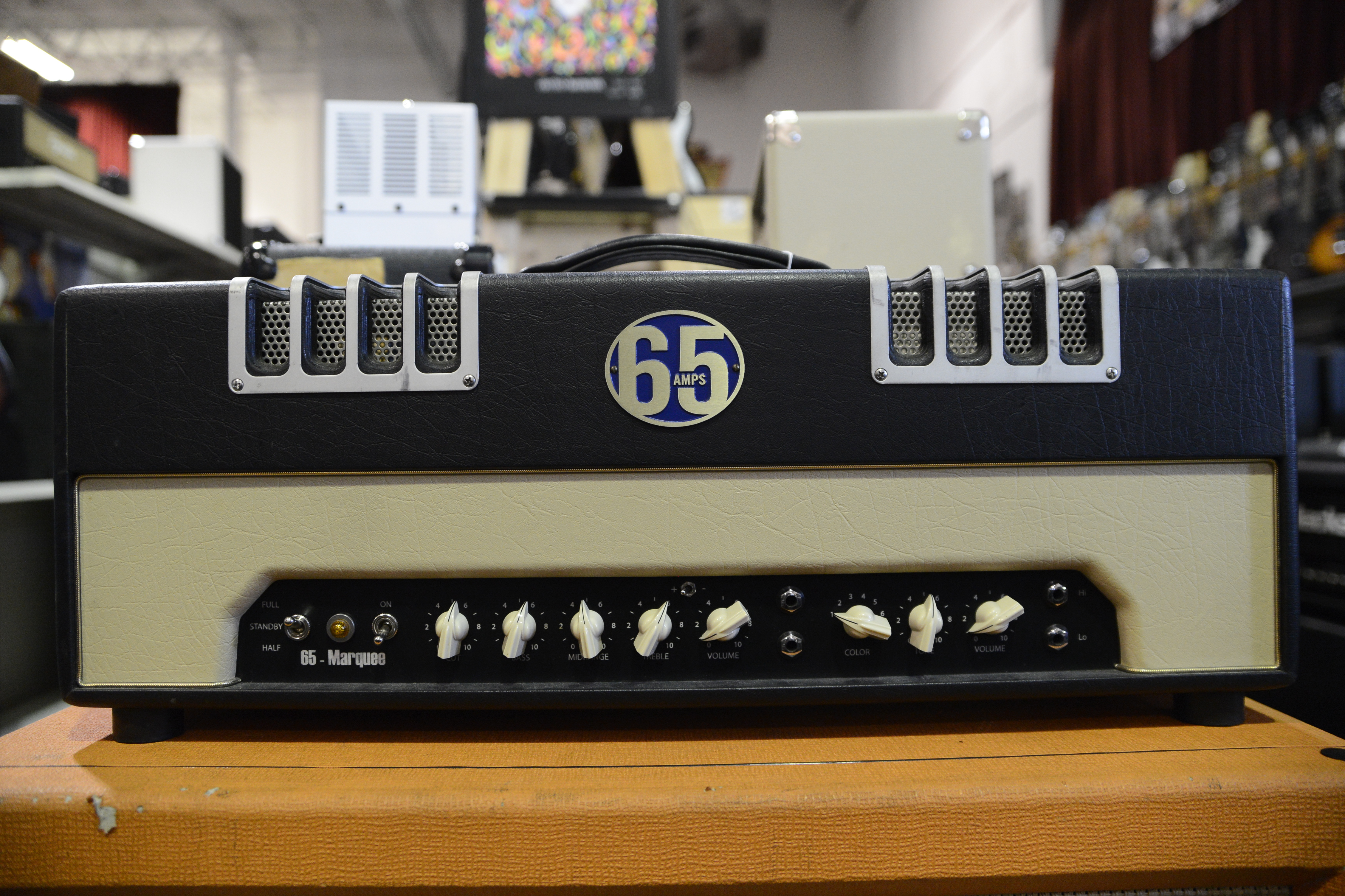 65 AMPS MARQUEE GUITAR HEAD TUBE AMPLIFIER