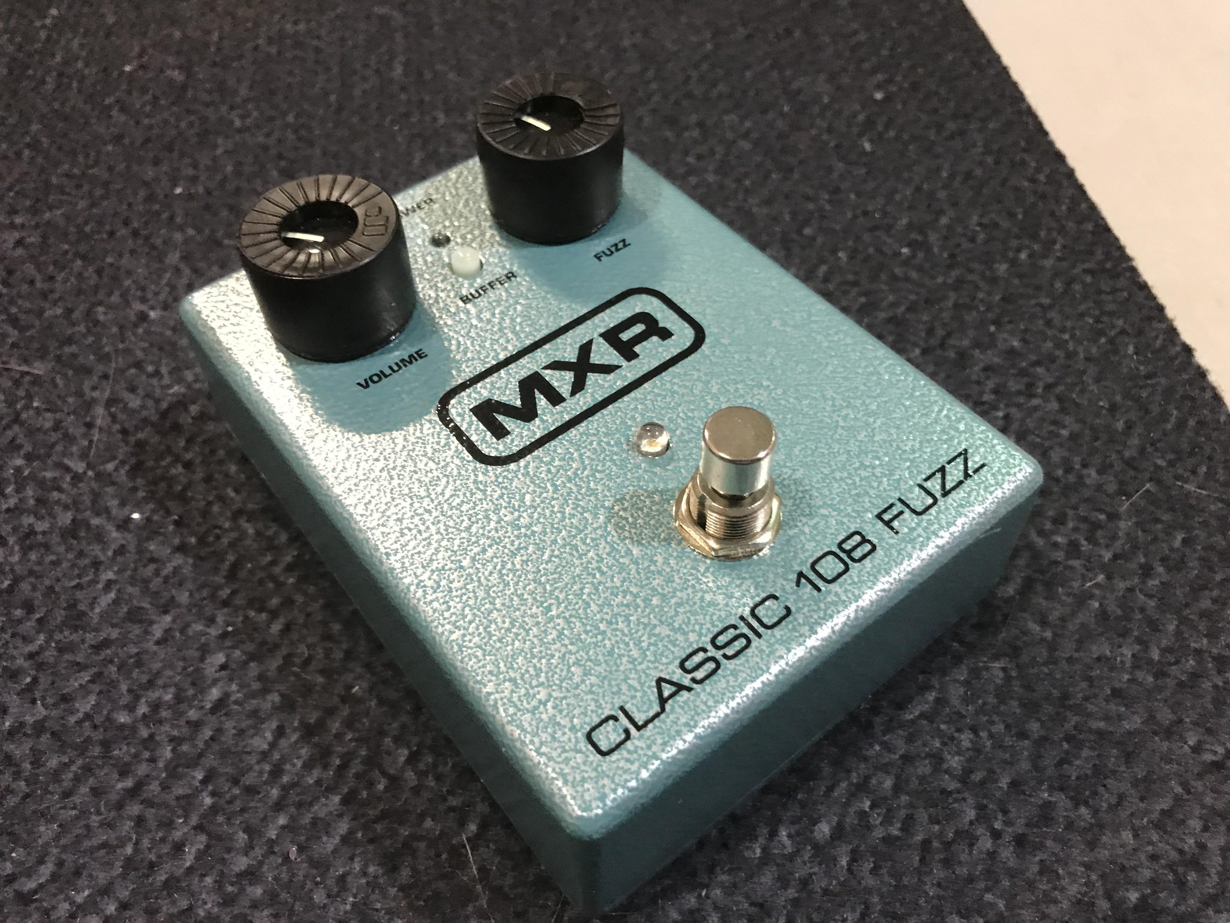 MXR M173 CLASSIC 108 FUZZ Effect Pedal