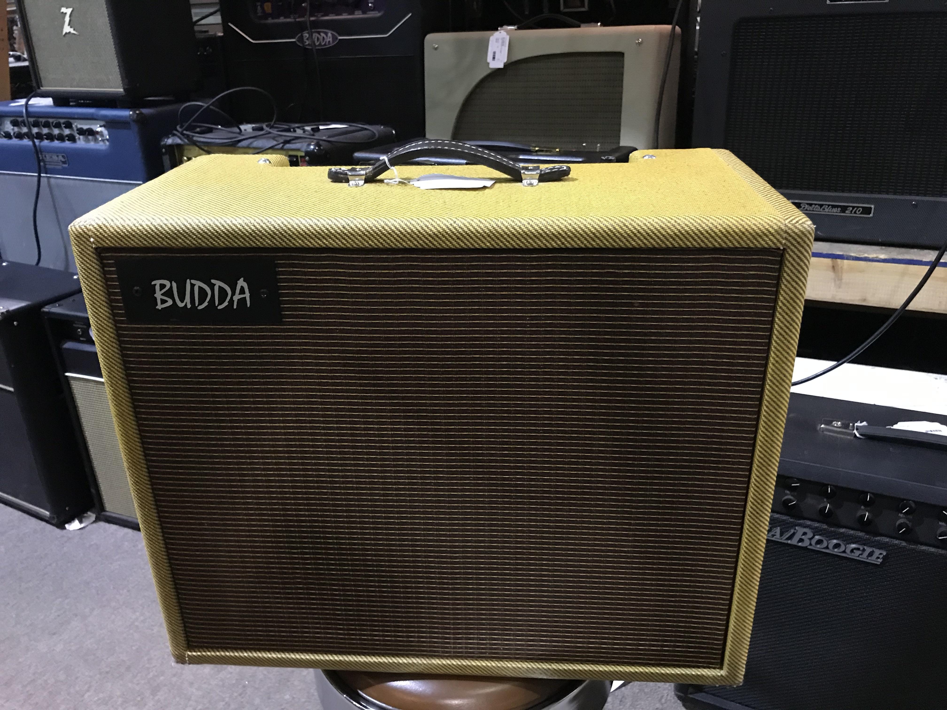 BUDDA TWINMASTER 10 Tweed 20W 1X12 Tube Guitar Combo Amp