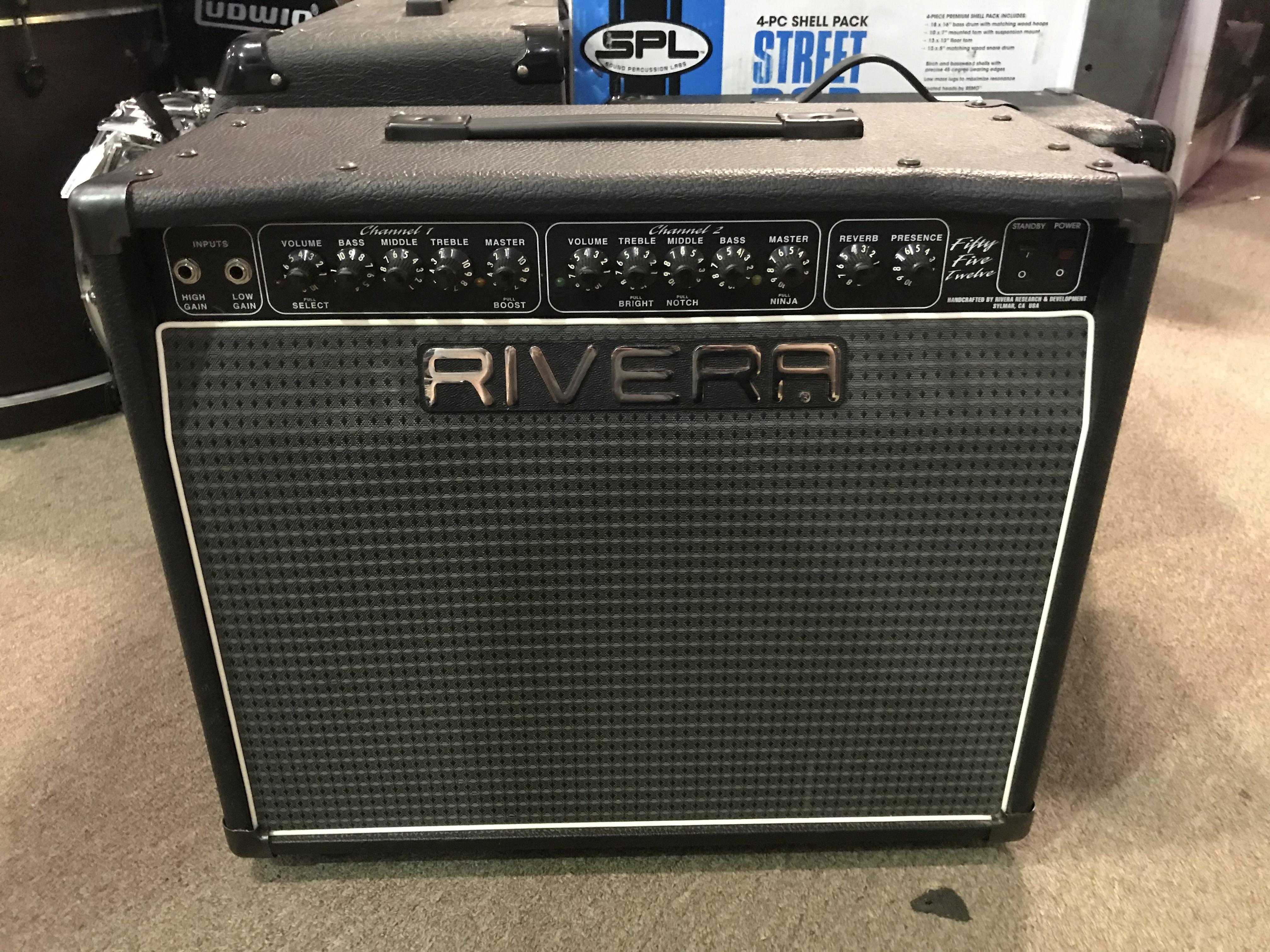 RIVERA R55-12 55W 1X12 Tube Combo Amp