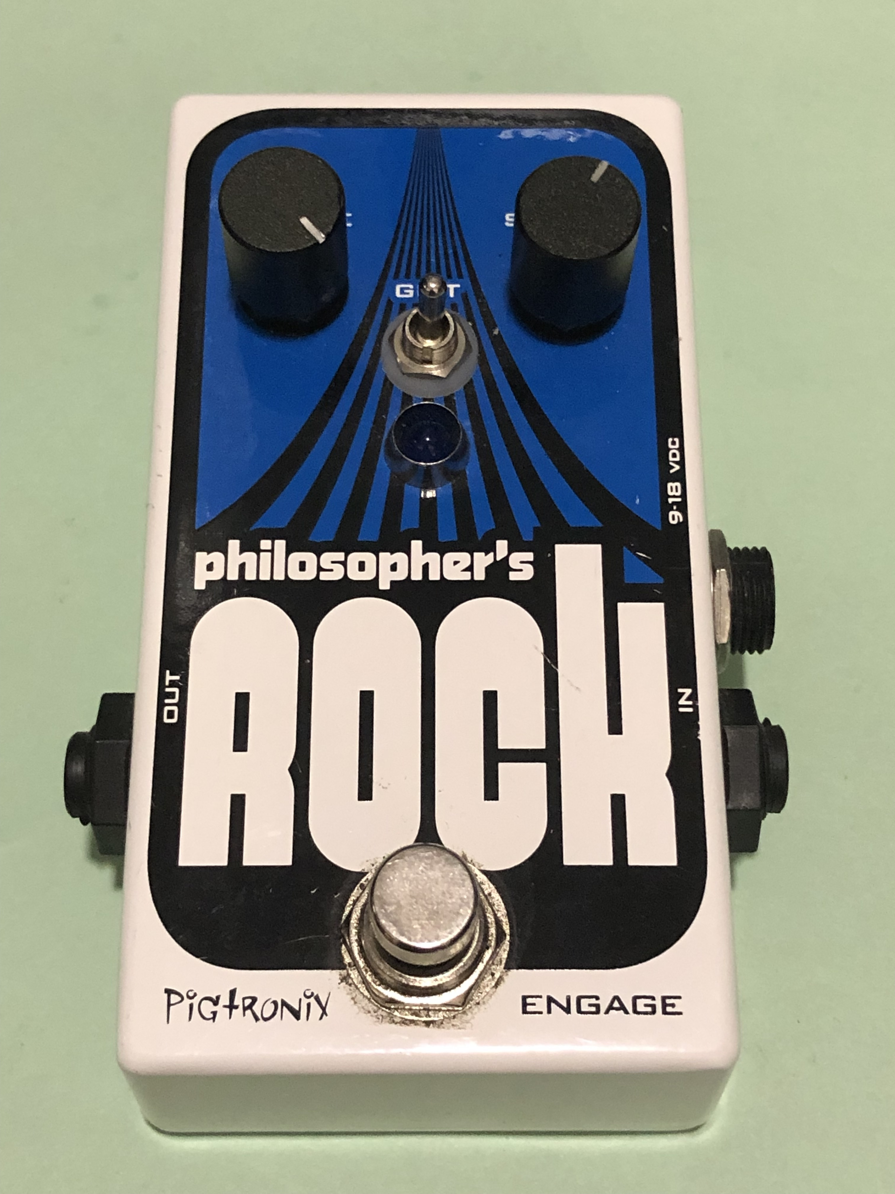 PIGTRONIX - PHILOSOPHER ROCK - EFFECTS PEDAL