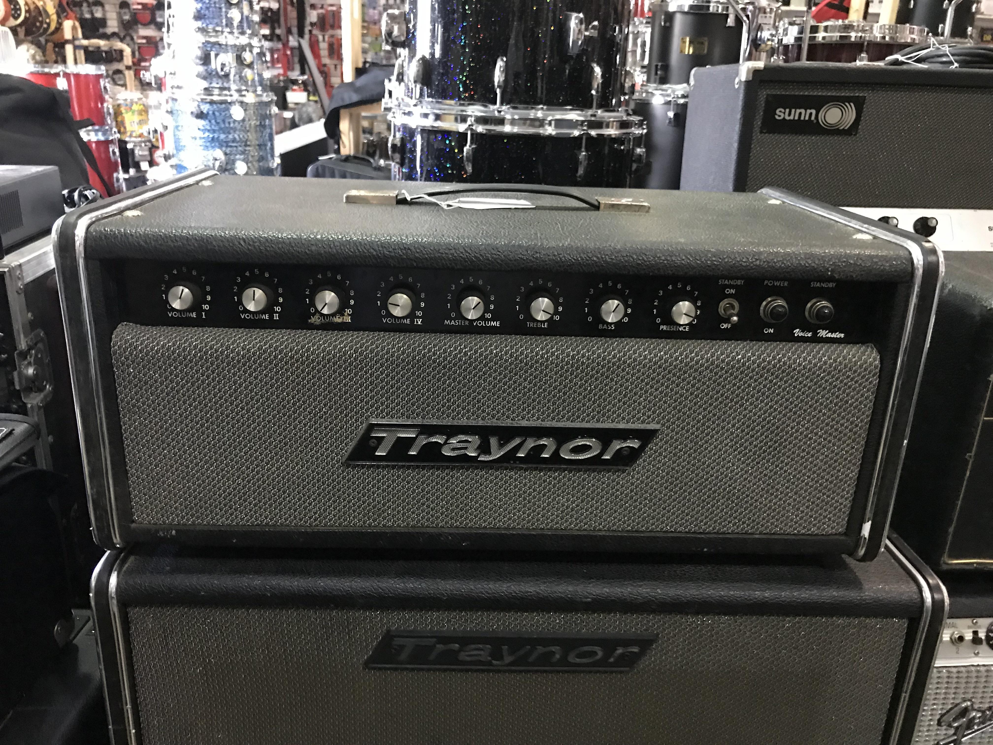 TRAYNOR VOICE MASTER YVM-1 50W Tube Guitar Amp Head