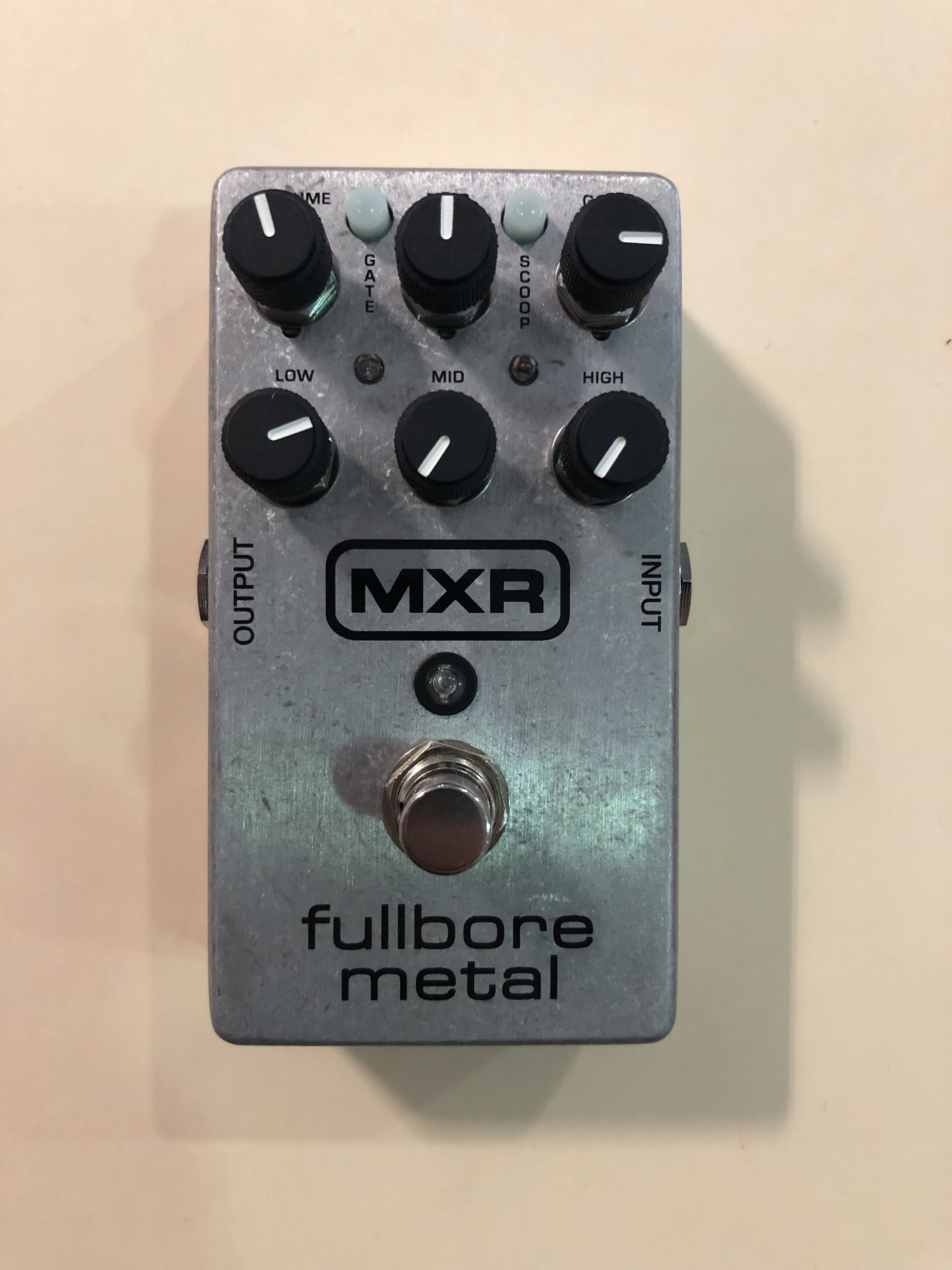 MXR - M116 FULLBORE METAL - DISTORTION EFFECTS PEDAL