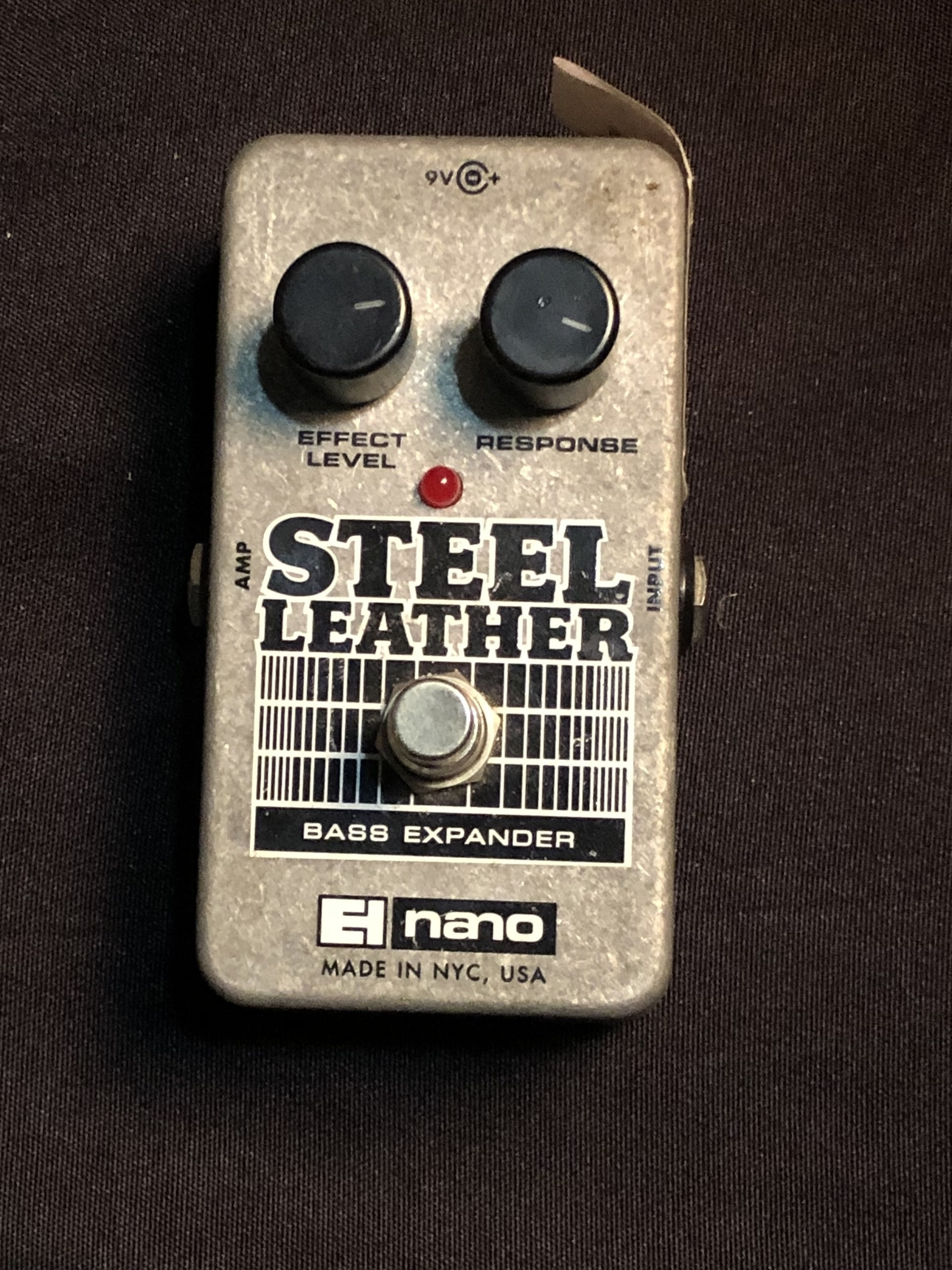 ELECTRO-HARMONIX - Steel Leather - Bass Expander Effect Pedal