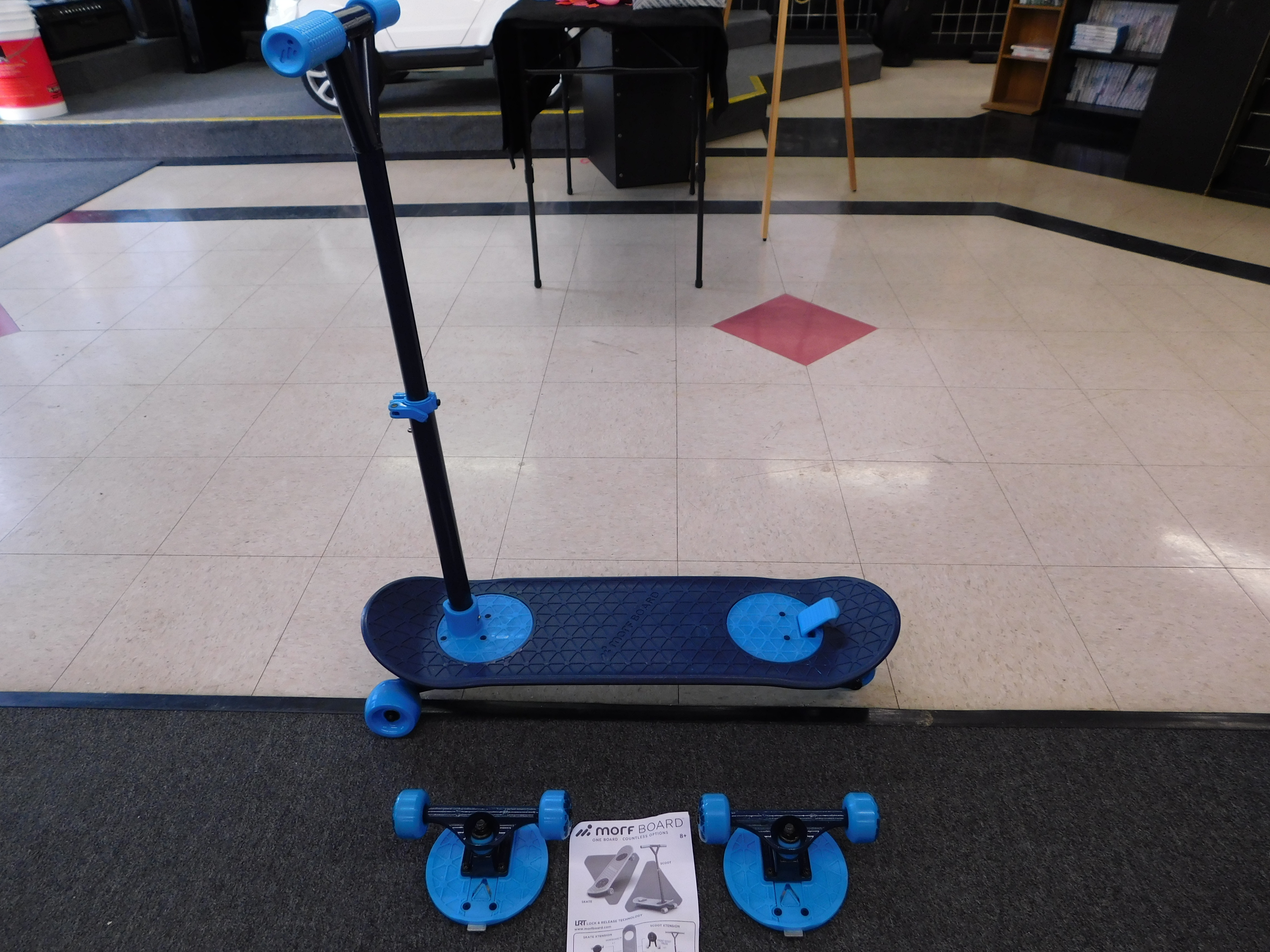 - MORF BOARD SCOOTER