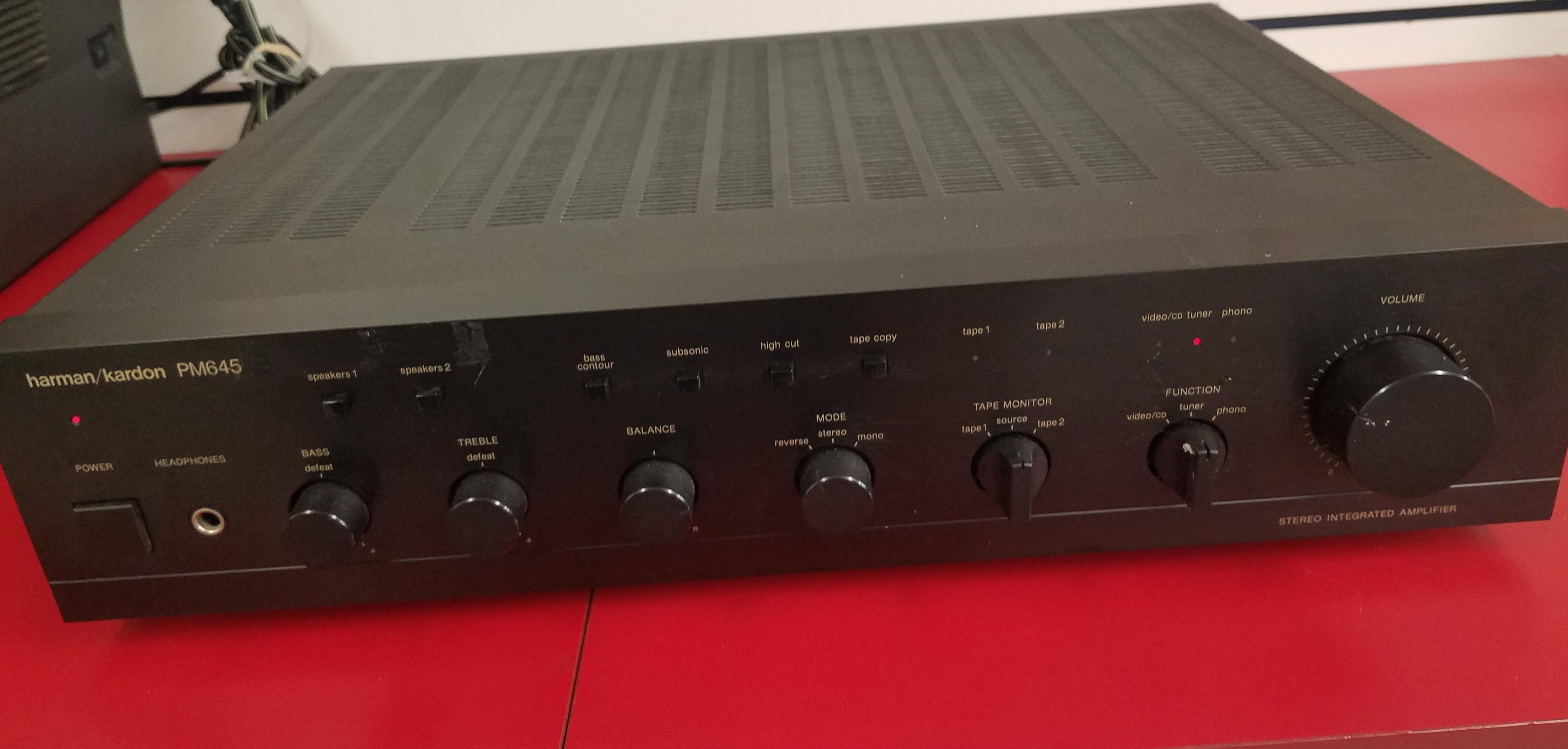 HARMAN/KARDON - PM645 - AMPLIFIER ELECTRONICS