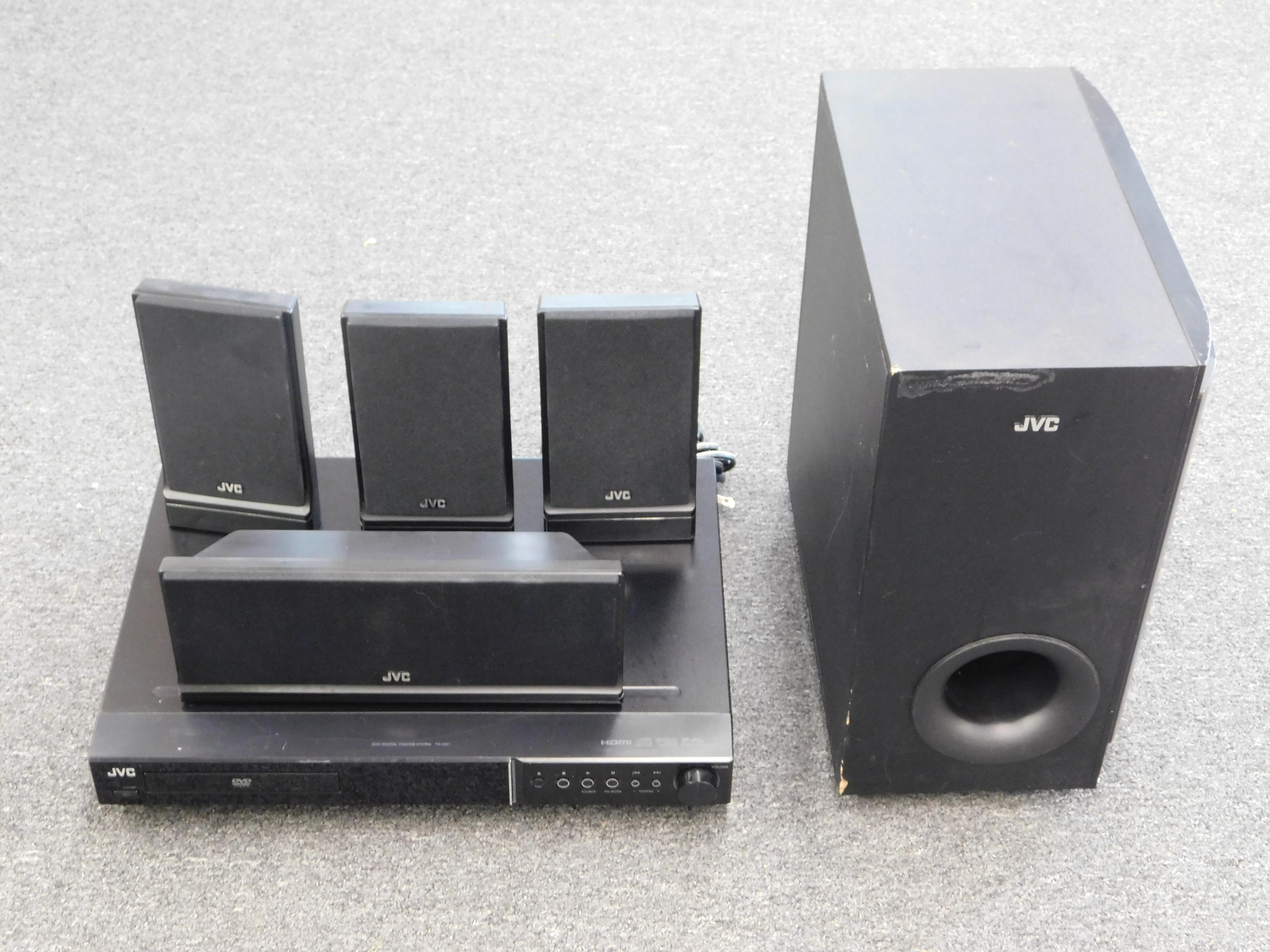 JVC - XV-THG31 - SURROUND SOUND SYSTEM
