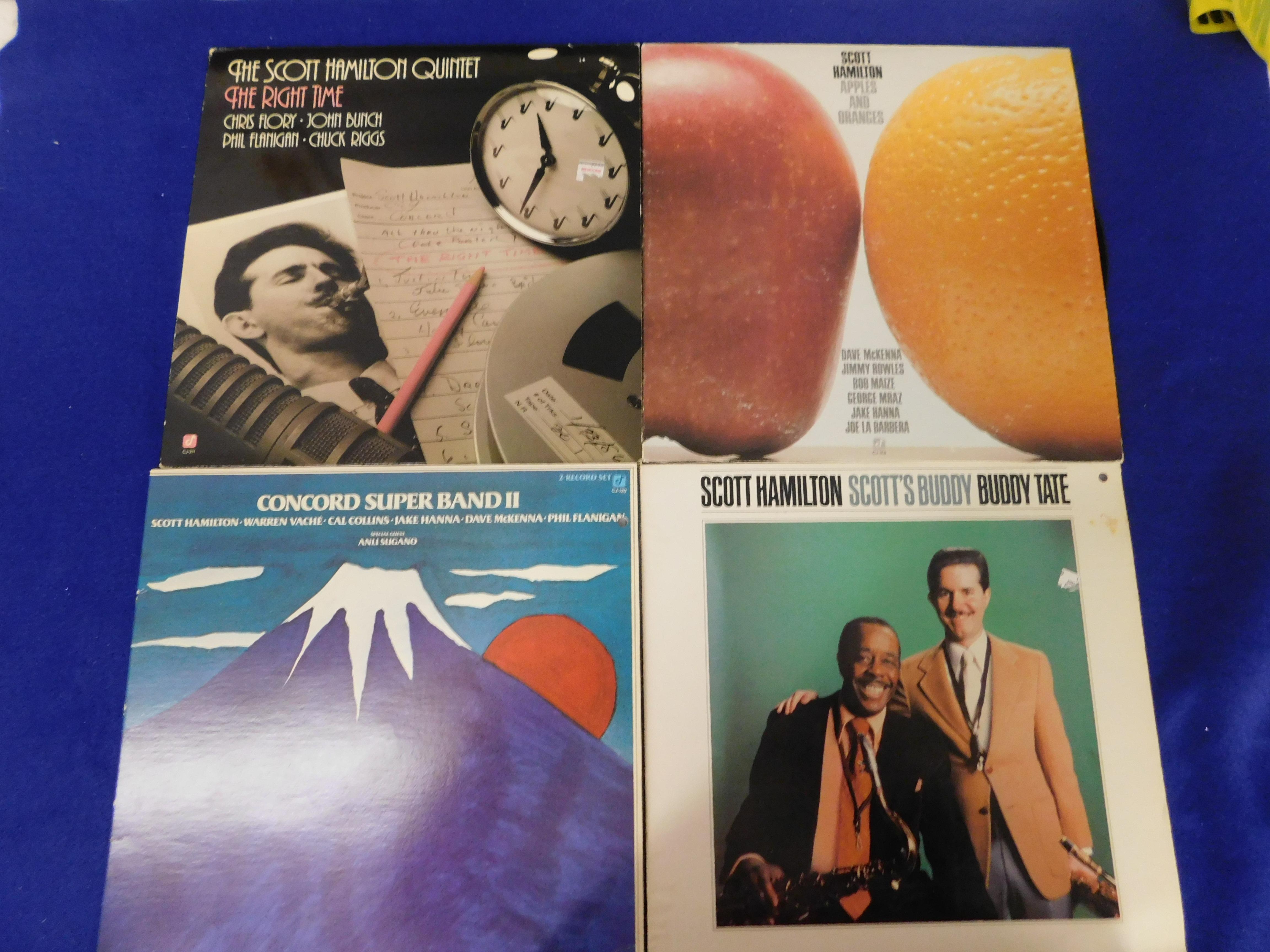 SCOTT HAMILTON LP BUNDLE