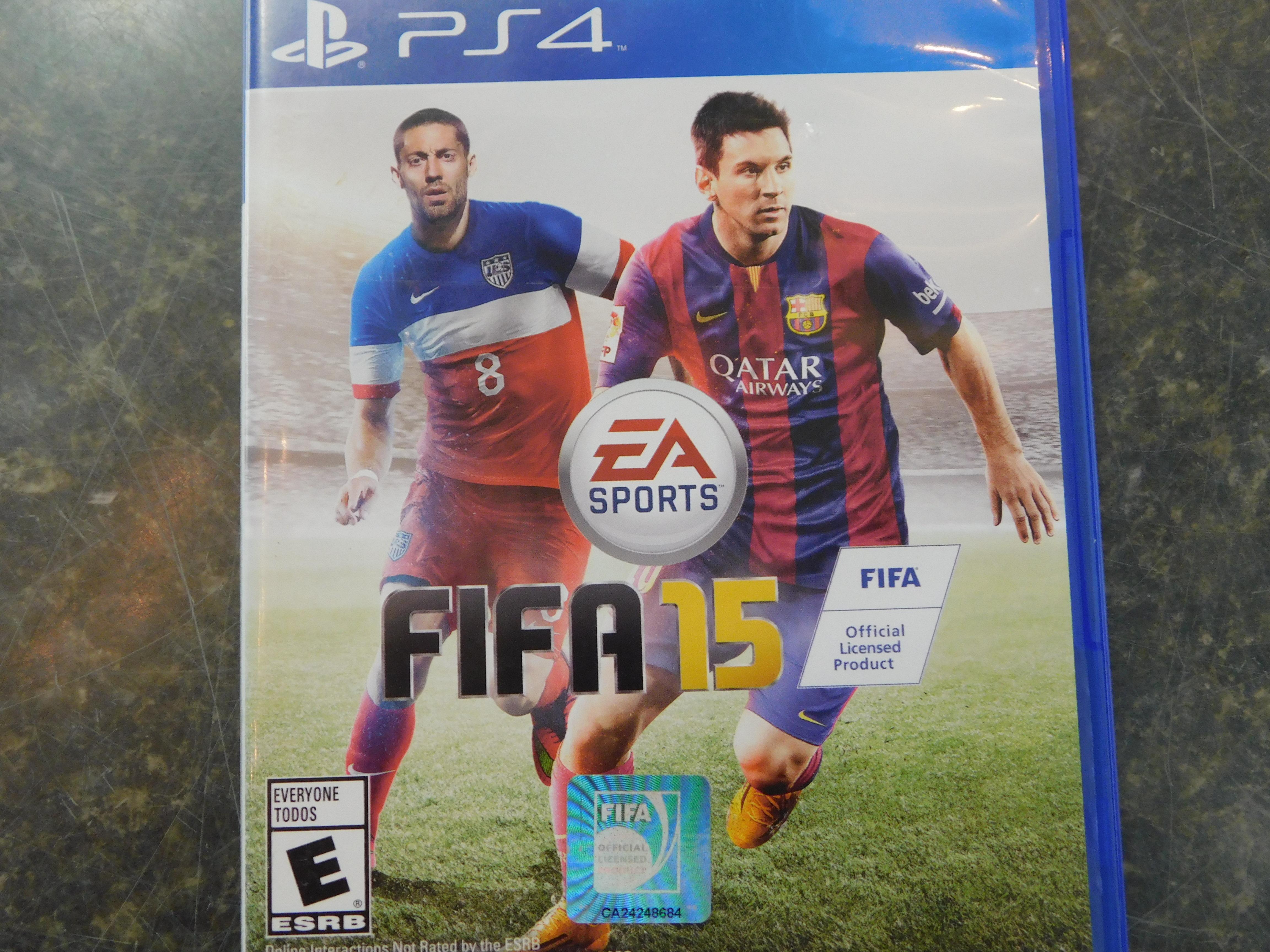 PLAYSTATION 4 FIFA 15 GAME