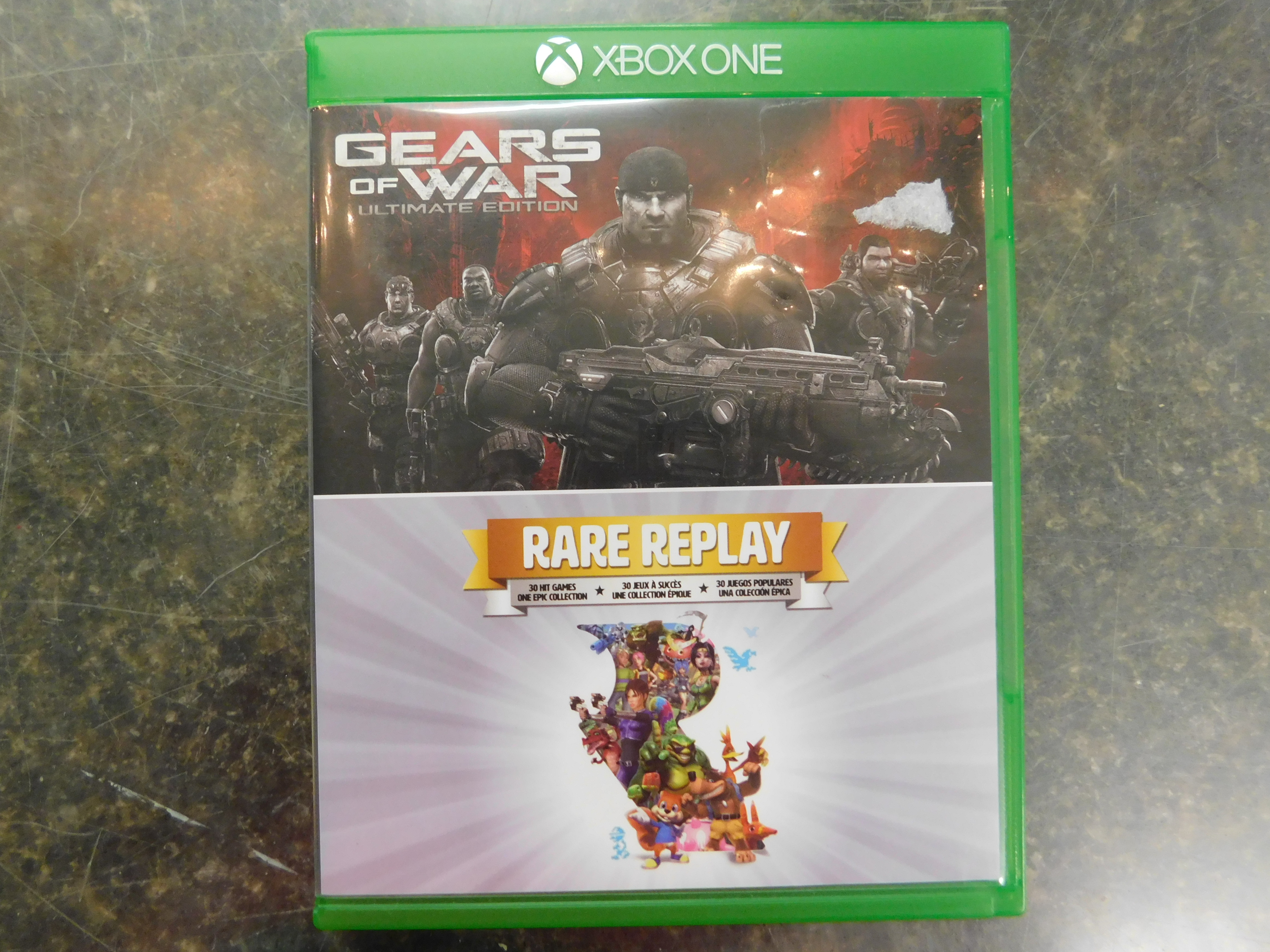 GEARS OF WAR/ RARE REPLAY XBOX ONE GAME