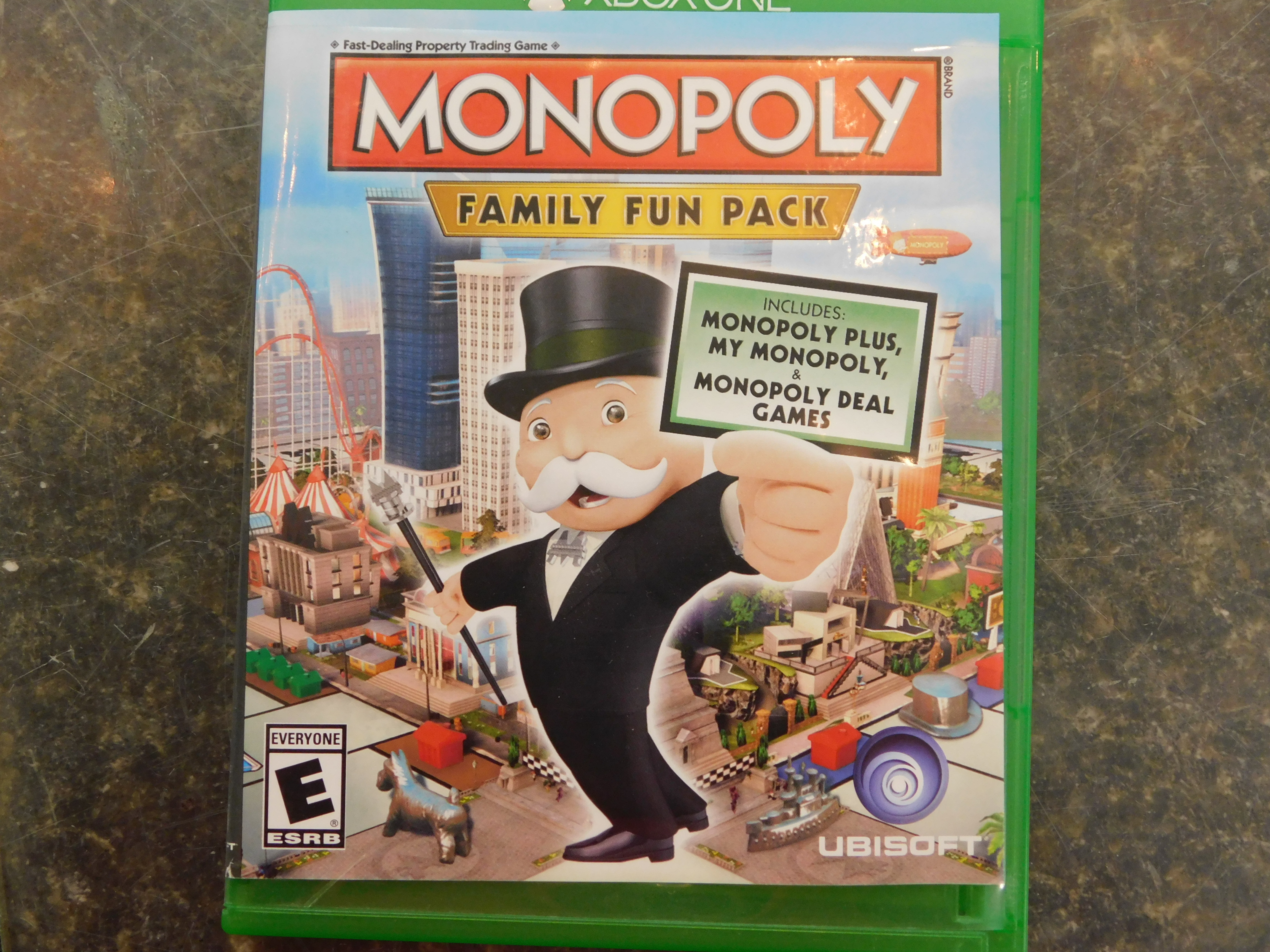 XBOX ONE MONOPOLY FAMILY FUN PACK GAME