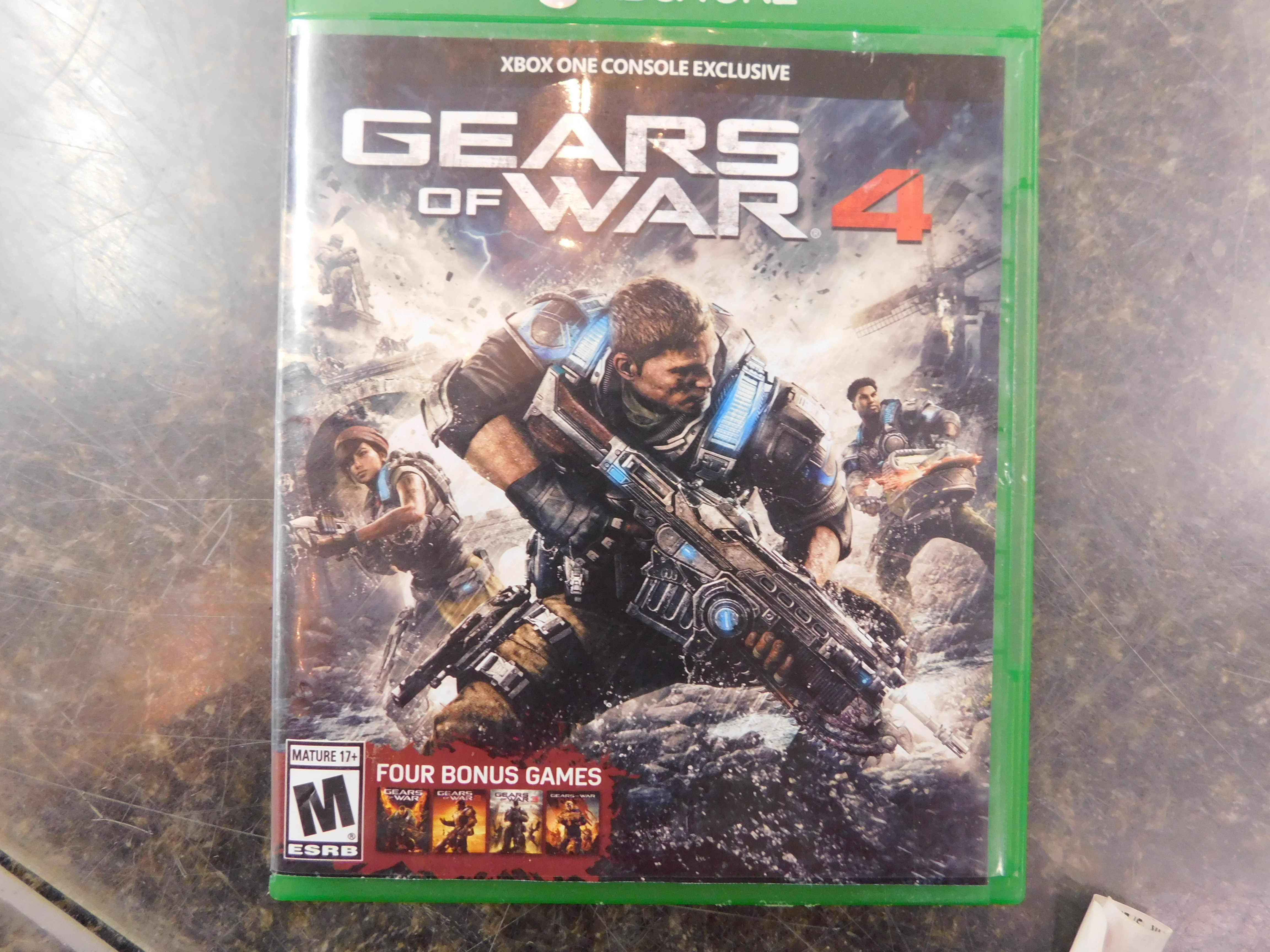 XBOX ONE GEARS OF WAR 4 GAME