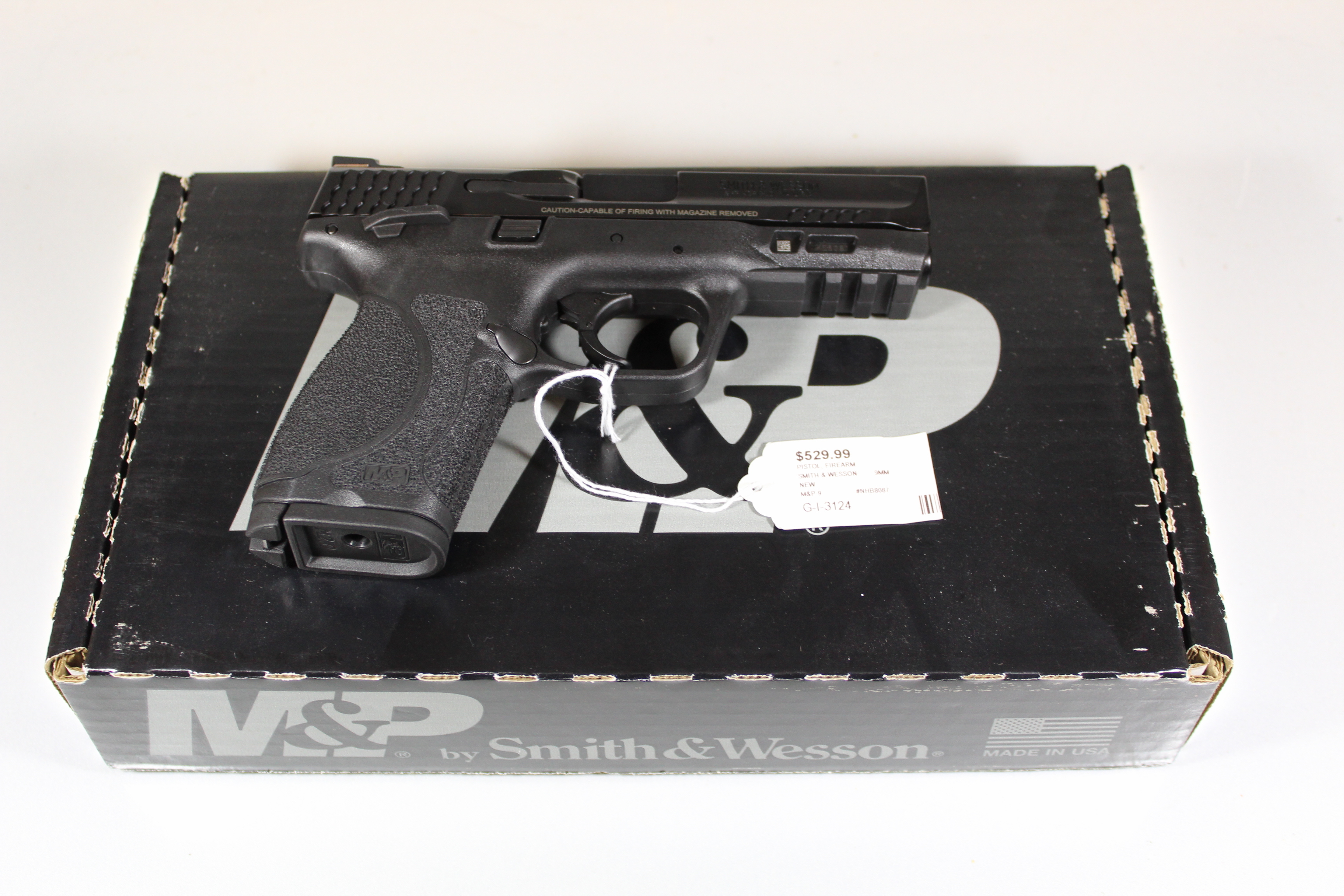 SMITH & WESSON - M&P 9 - PISTOL FIREARM