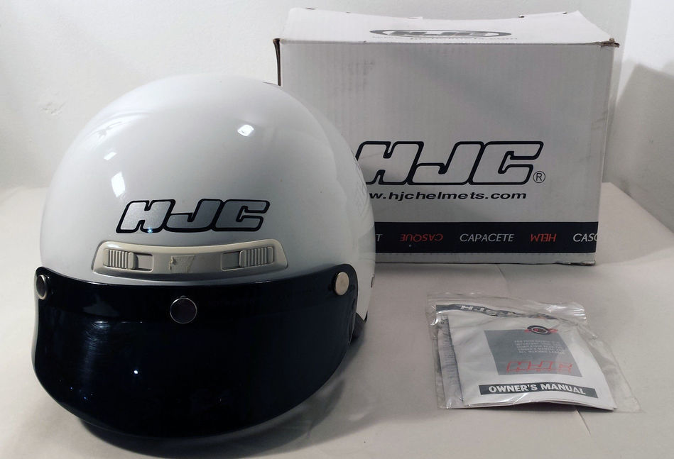 HJC CL-2 Motorcycle Helmet with Visor and Zipout neck/ear Cover Small DOT Size S