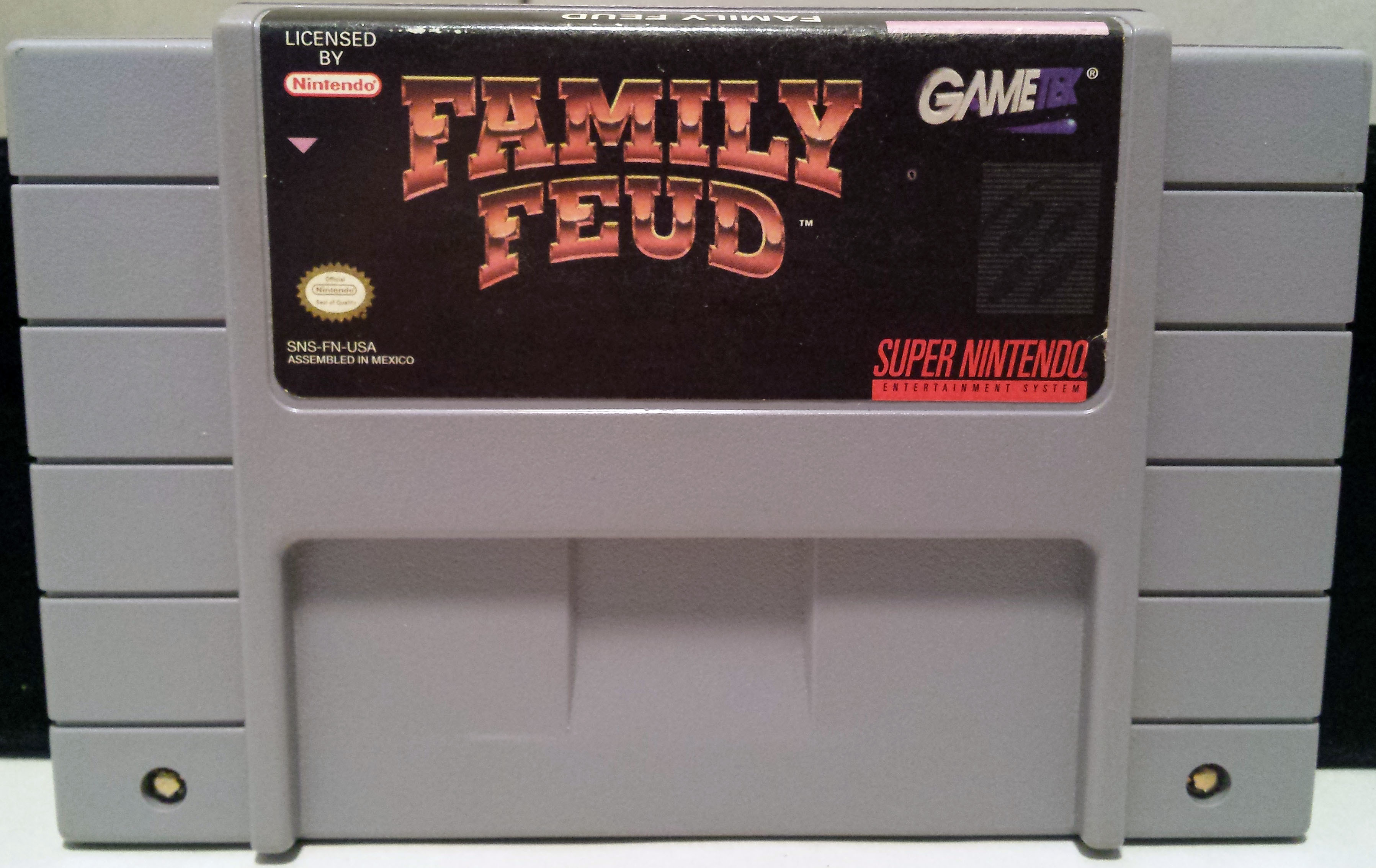 Family Feud (Super Nintendo Entertainment System SNES, 1993) - Pre-owned