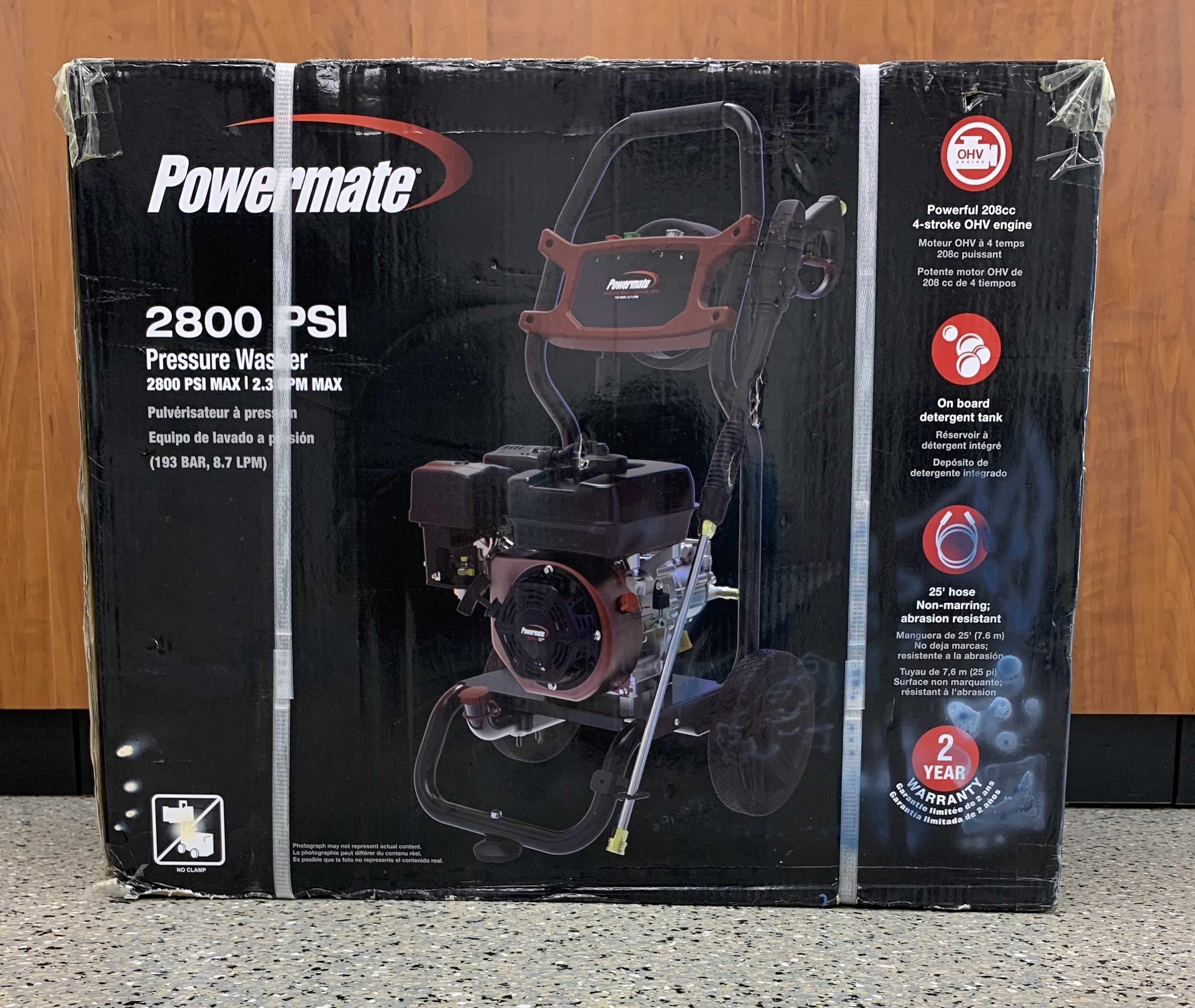 Powermate 7130 Residential Pressure Washer