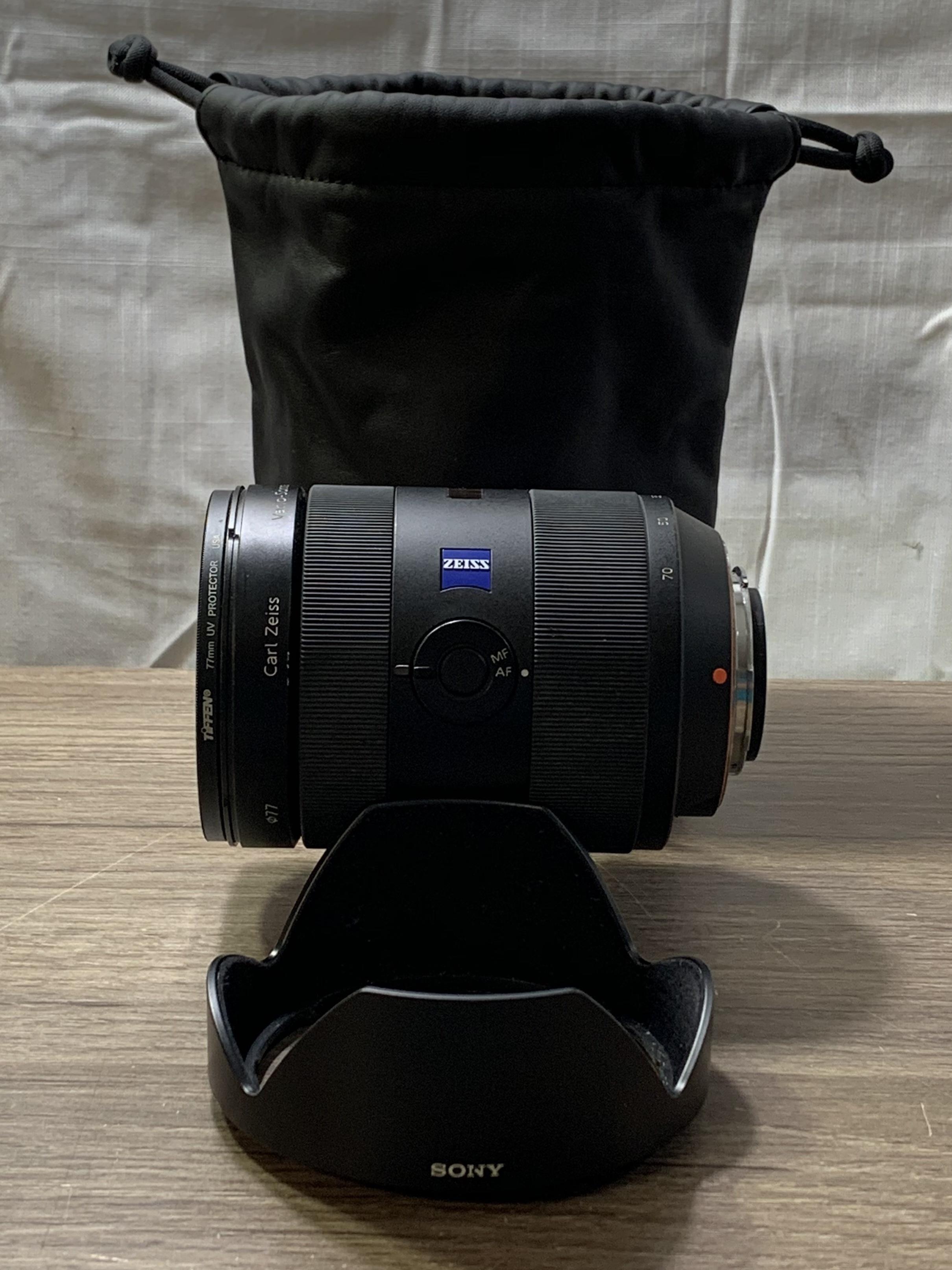 Sony Zeiss Vario -Sonnar 24-70mm f/2.8 ZA Lens full frame lens for Sony A mount