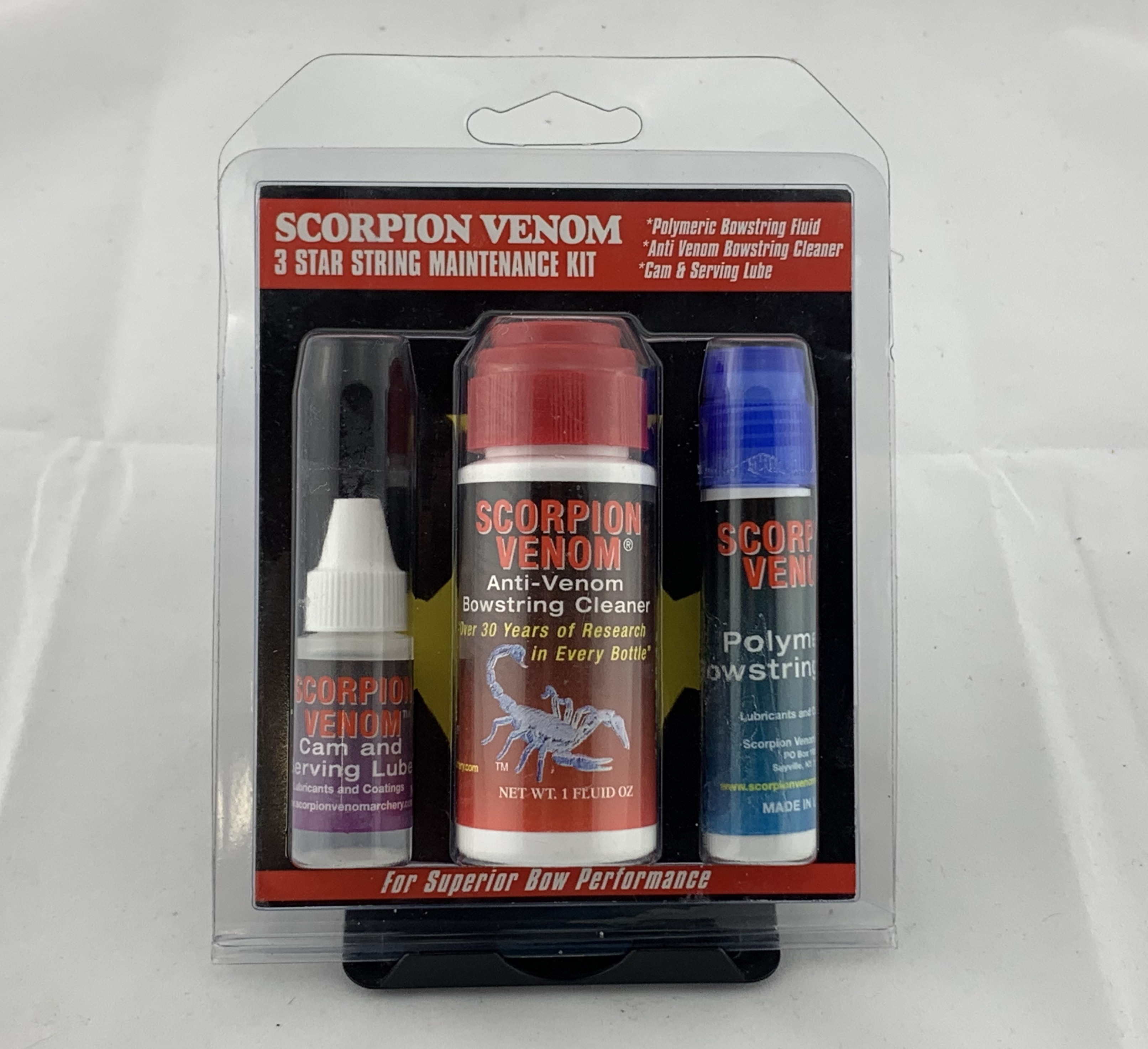 Scorpion Venom 3 Star Bow Maintenance Kit