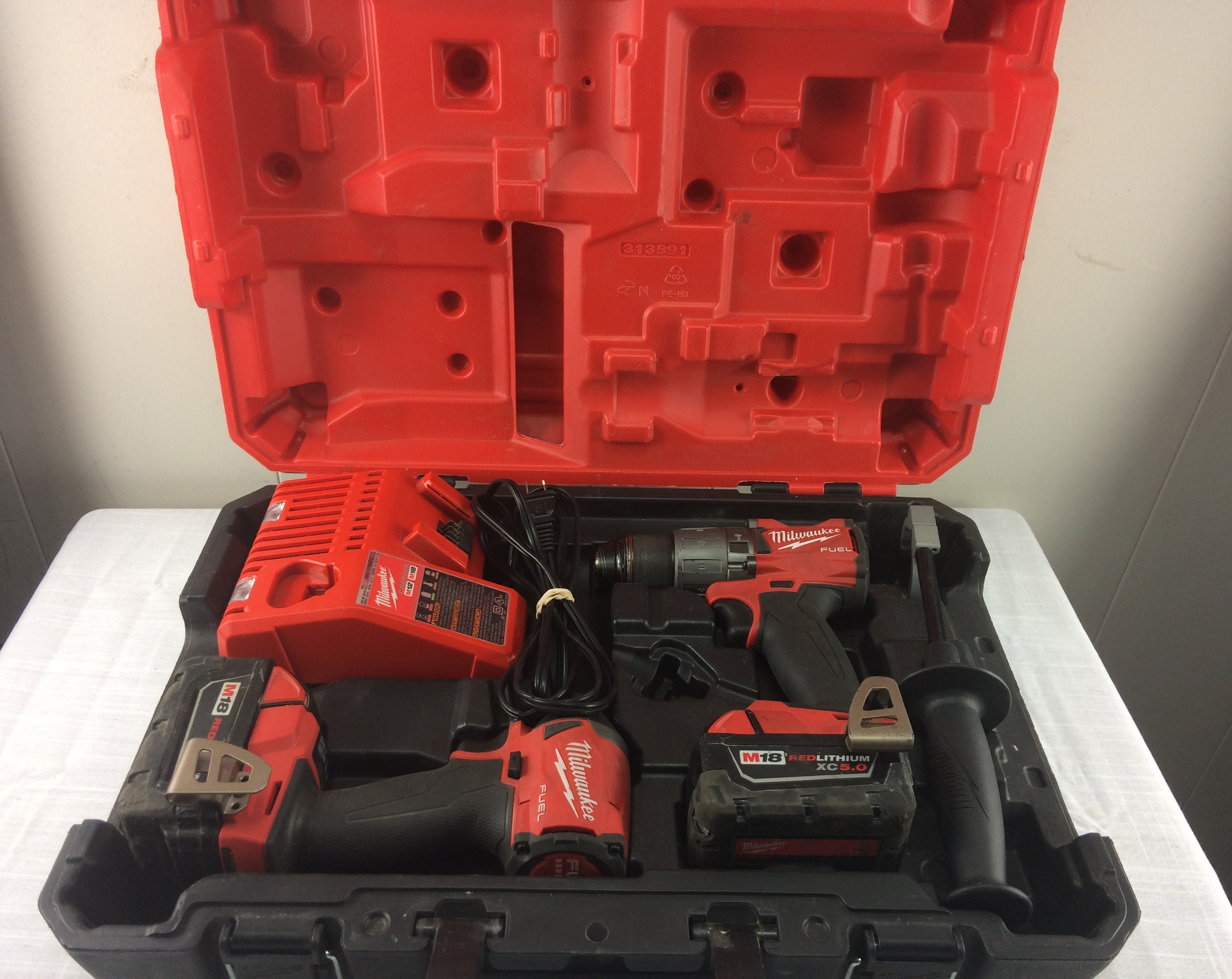Milwaukee 2997-22 Hammer Drill & Impact Combo Kit