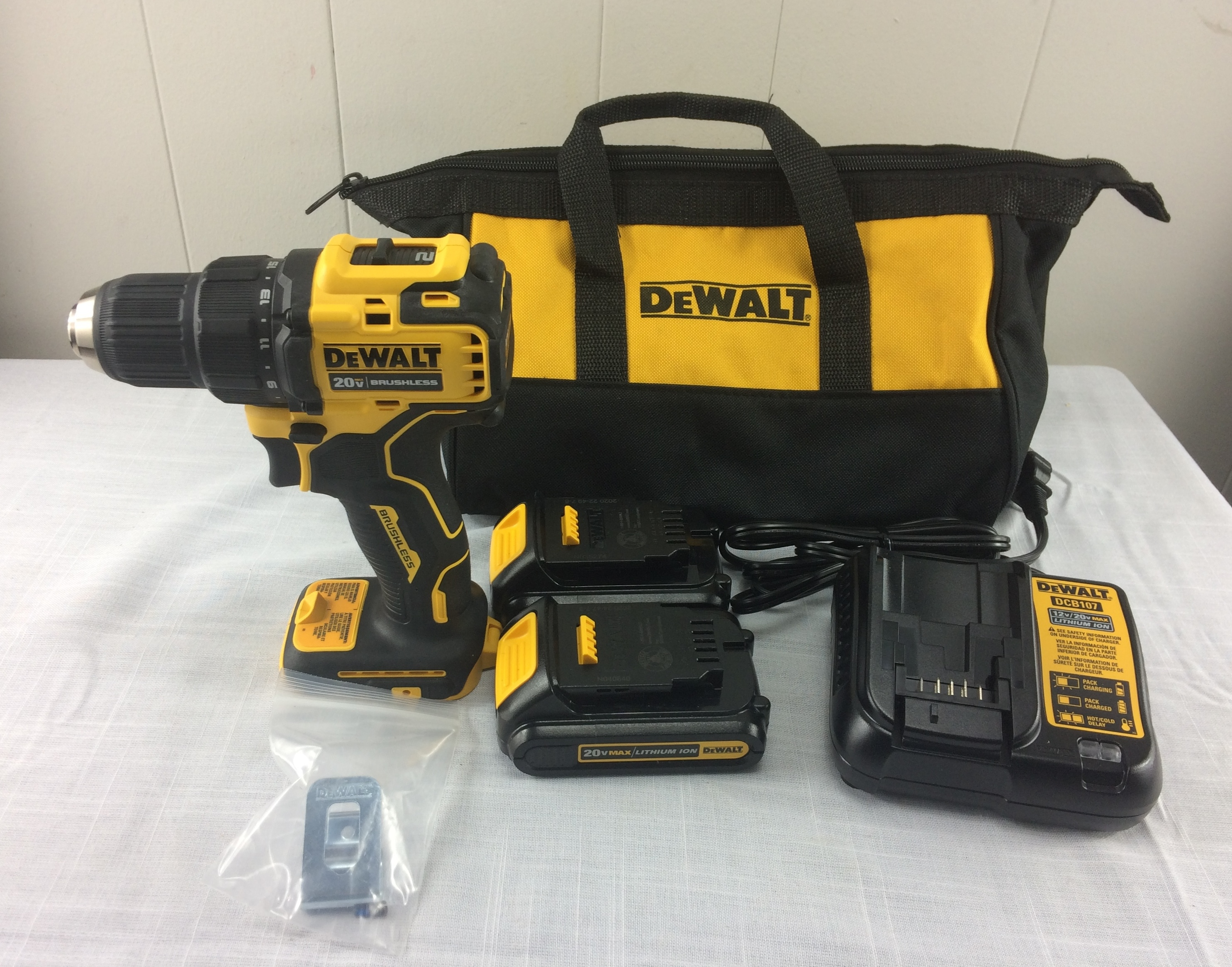 Dewalt DCD708 Atomic 20V Max Brushless 1/2