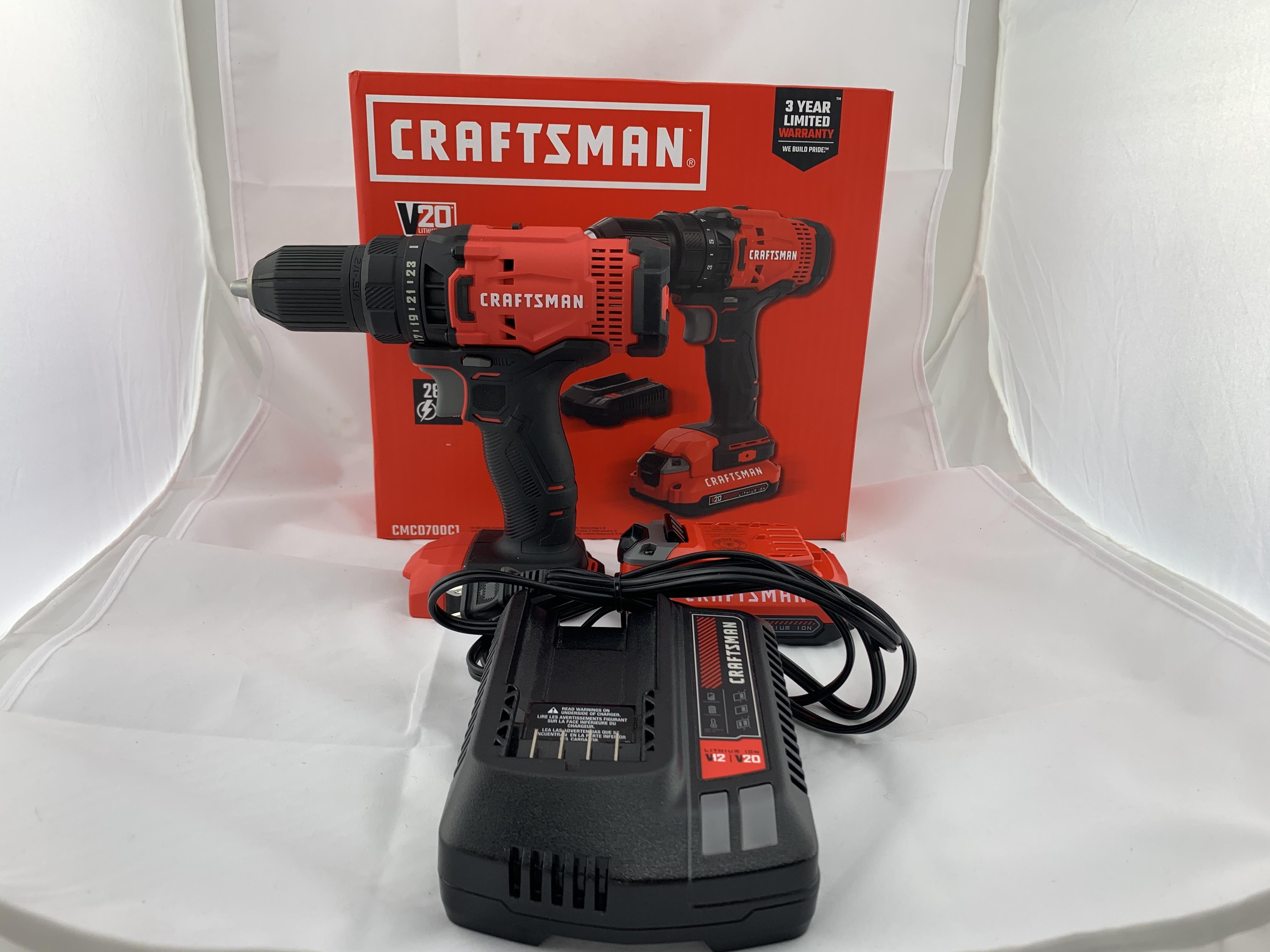 Craftsman CMCD700 20V 1/2