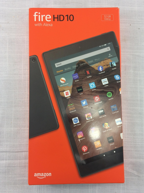 Amazon Fire HD 10 Tablet 32GB Black (2019) 9th Gen