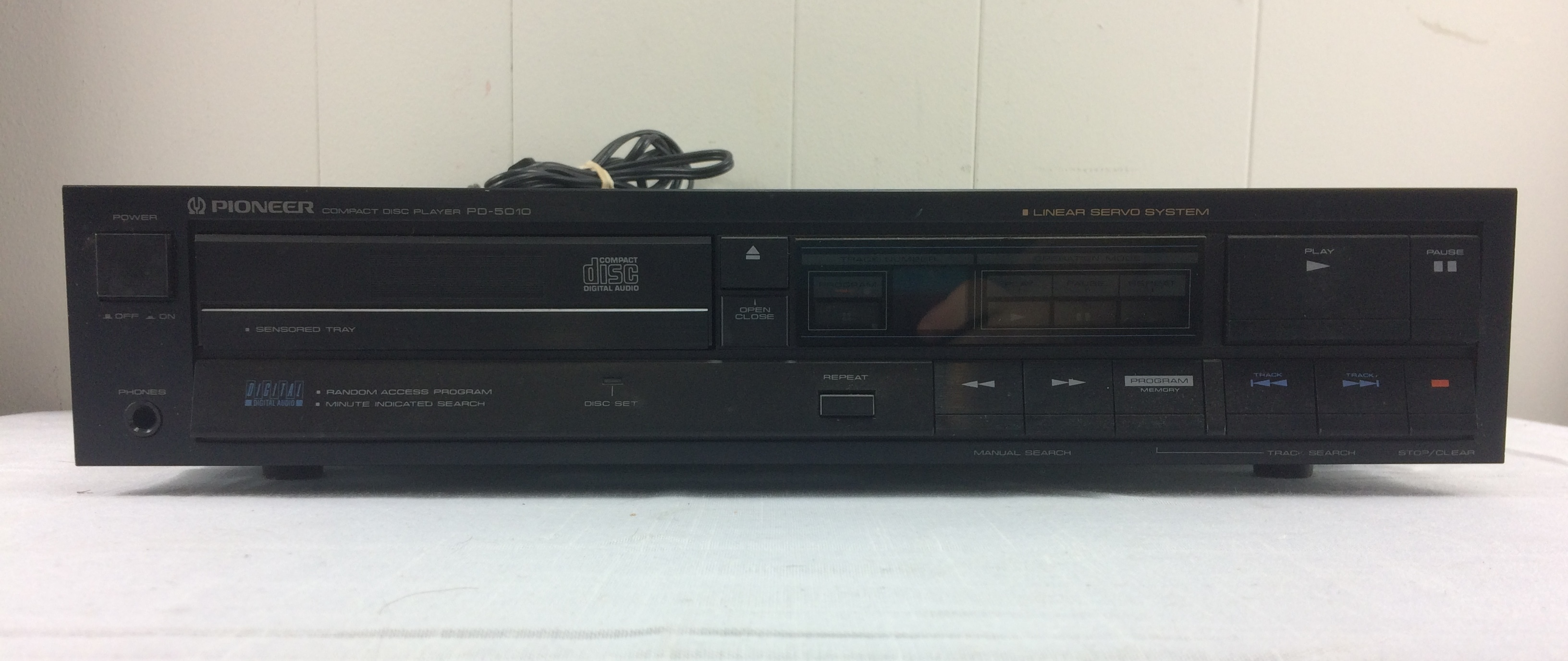 Vintage Pioneer PD-5010 Stereo CD Player - No Remote