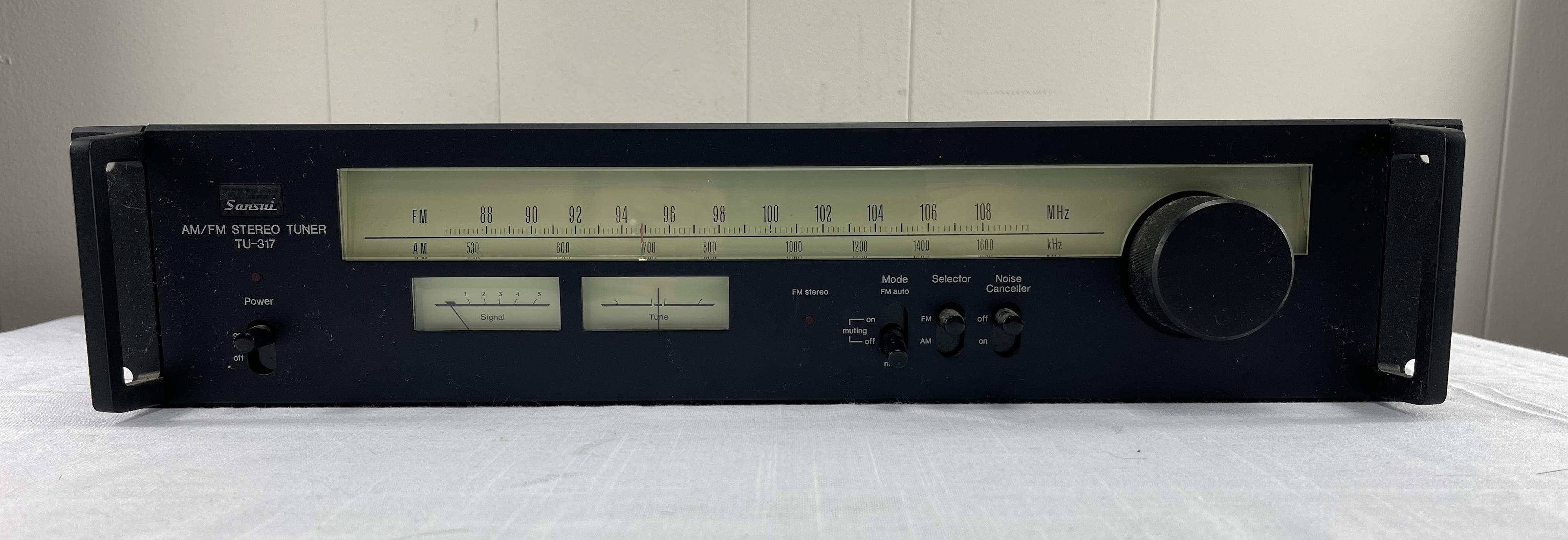 Sansui TU-317 AM/FM Tuner