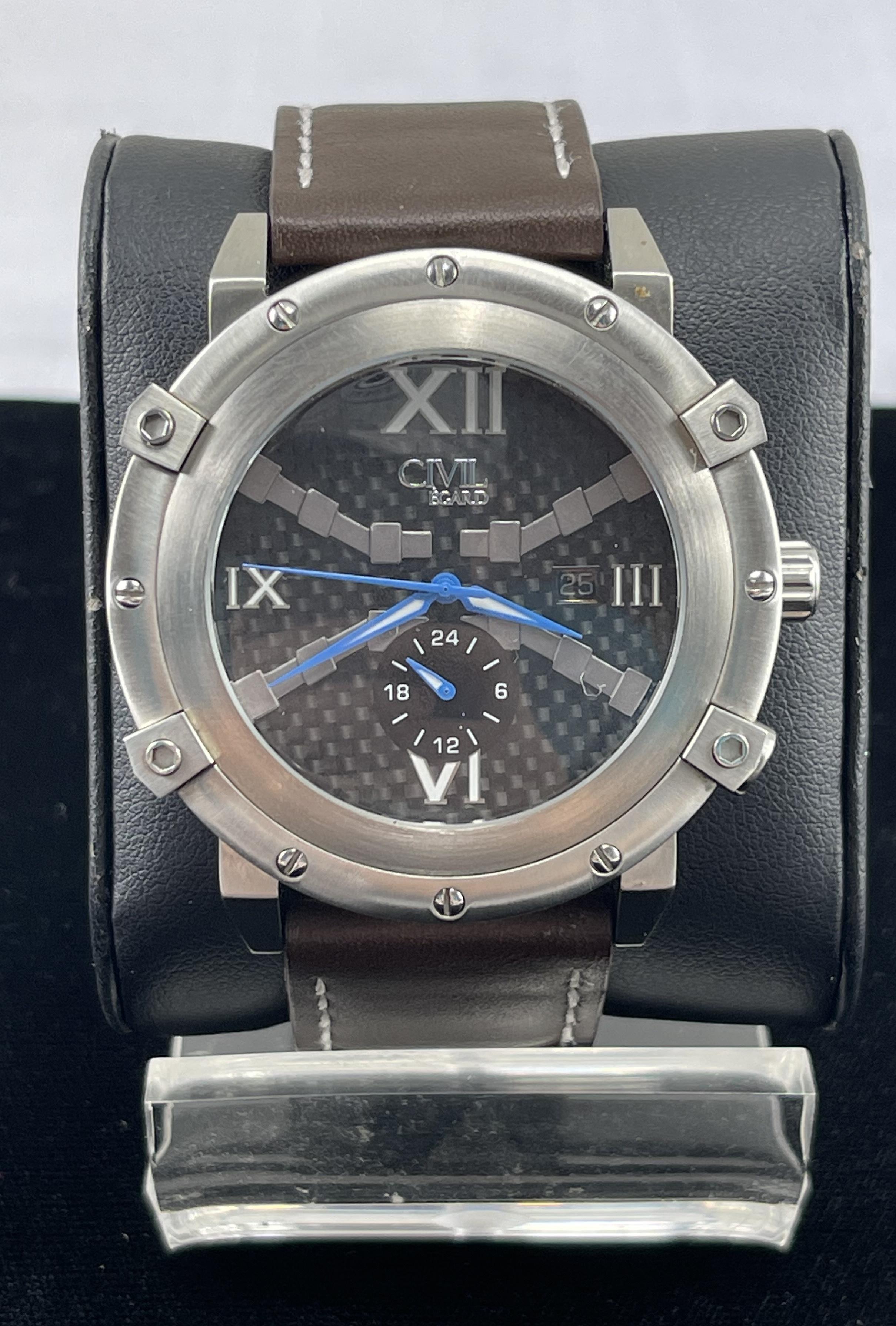 Renegade Steel by Egard - Men's Wristwatch