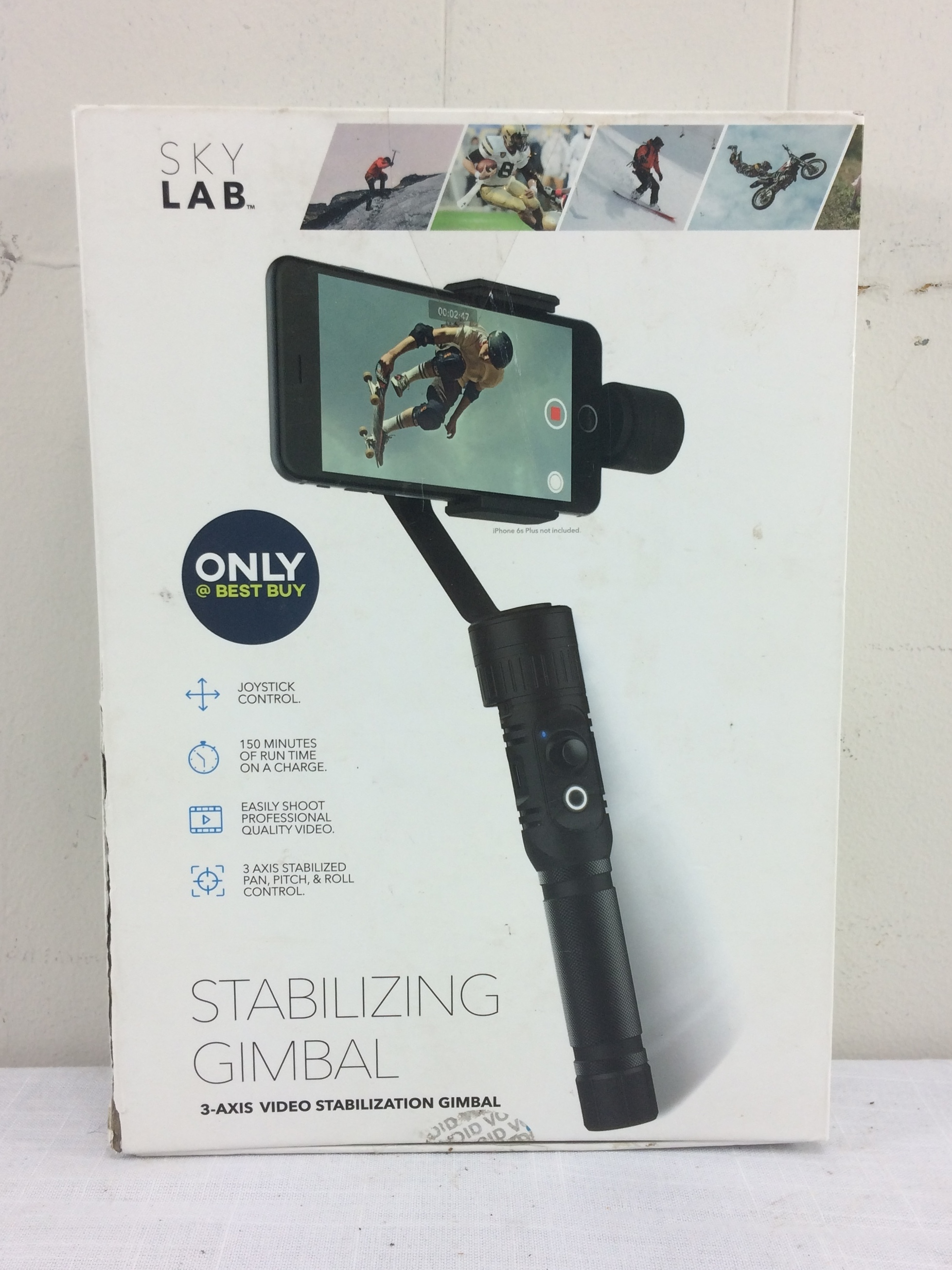SkyLab 3-Axis Video Stabilization Gimbal for Mobile Phones