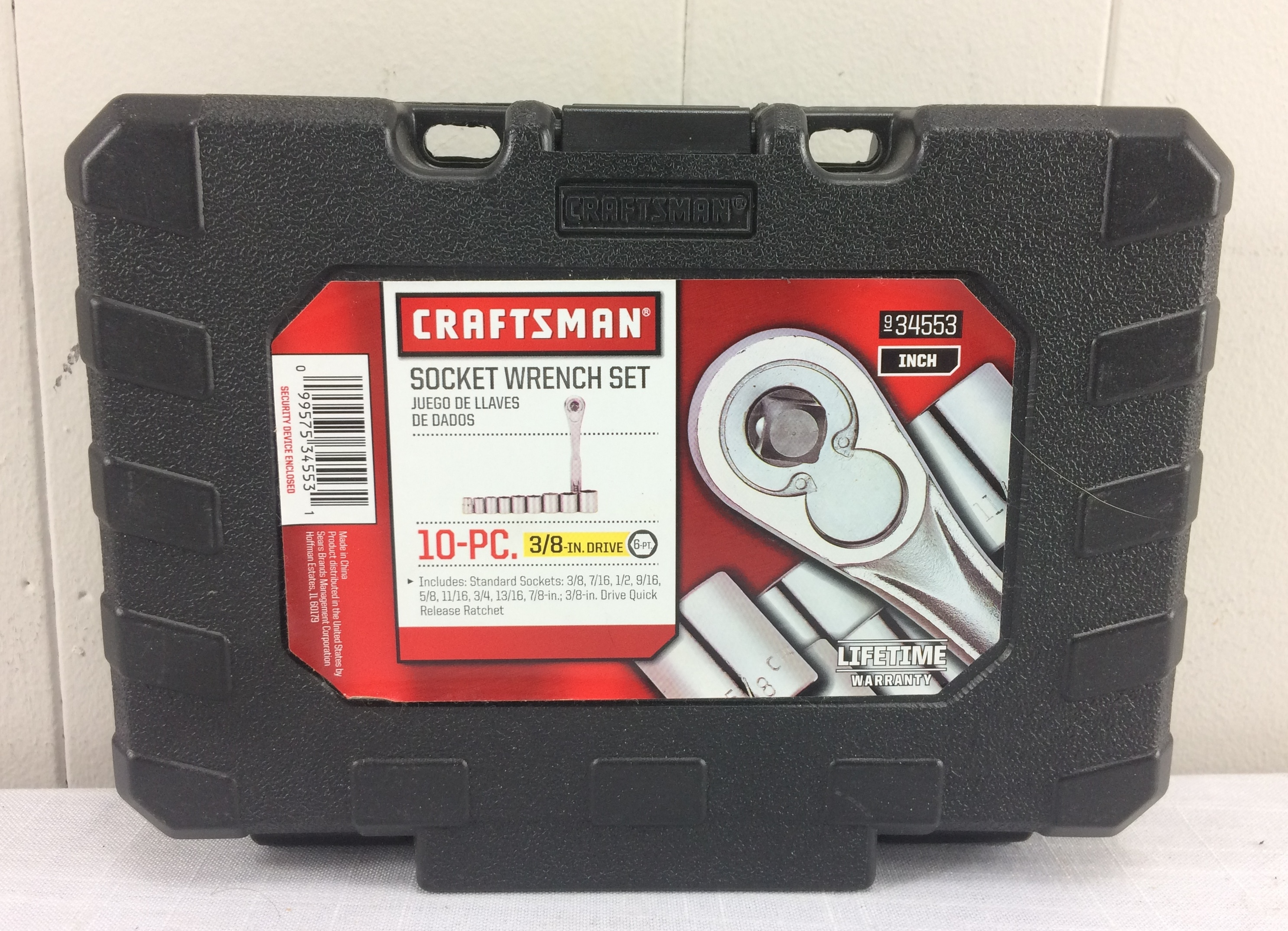Craftsman 10-PC 6-pt 3/8
