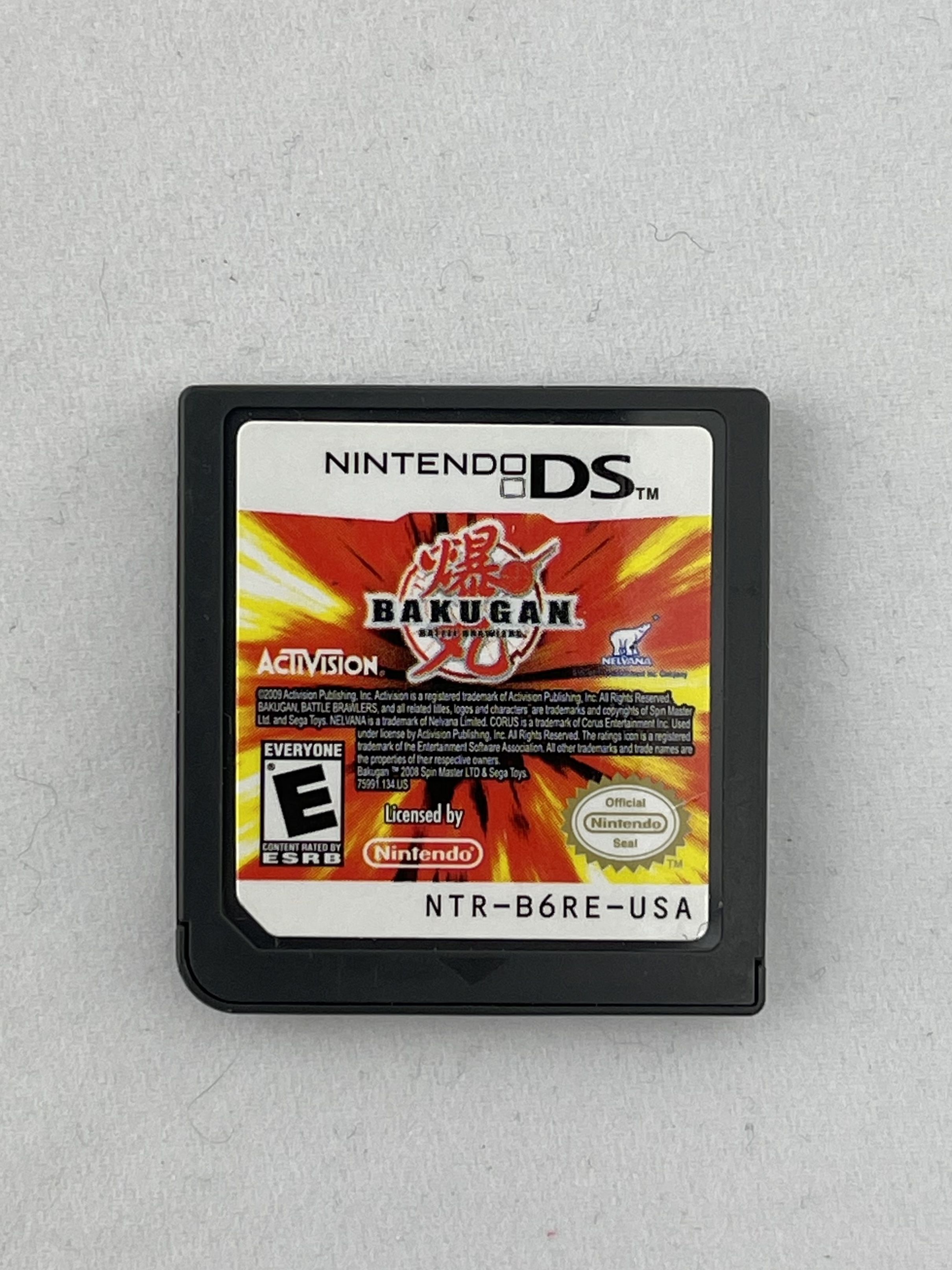 Bakugan Battle Brawlers - DS - Cart Only