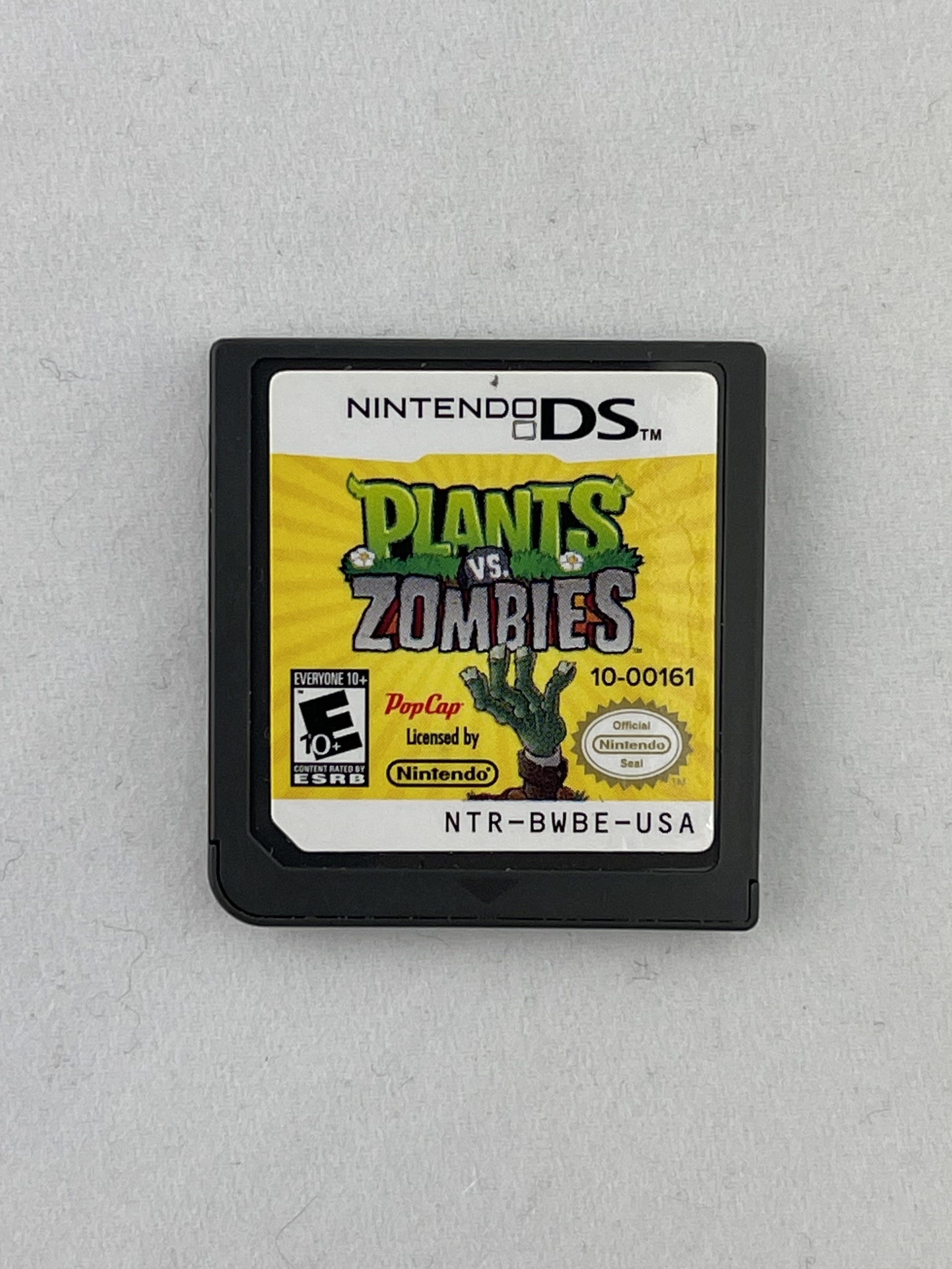 Plants vs Zombies - DS - Cart Only