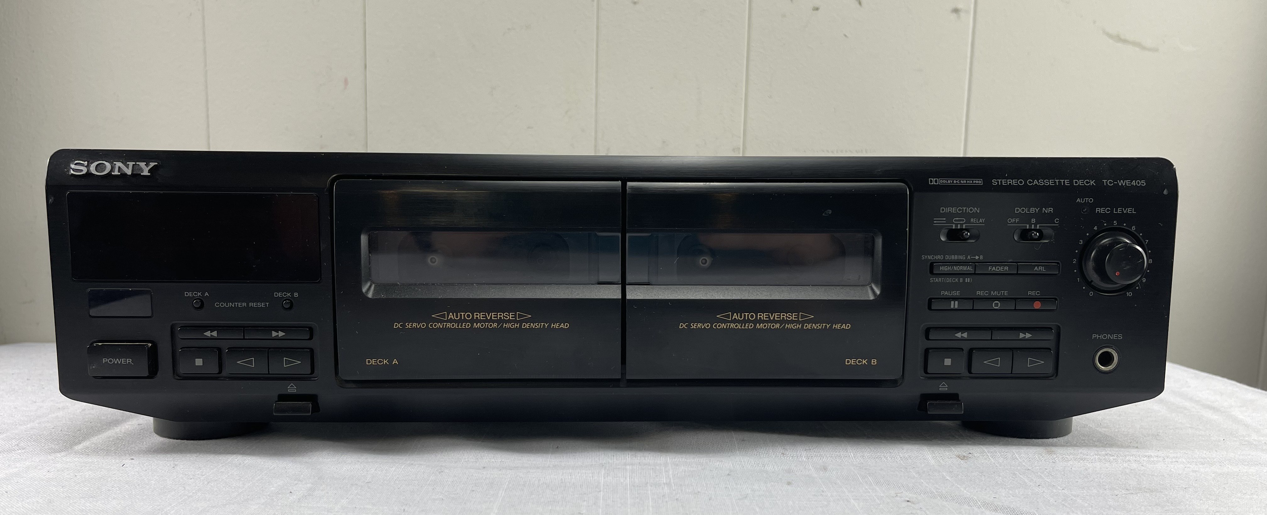 Sony TC-WE405 Dual Cassette Deck