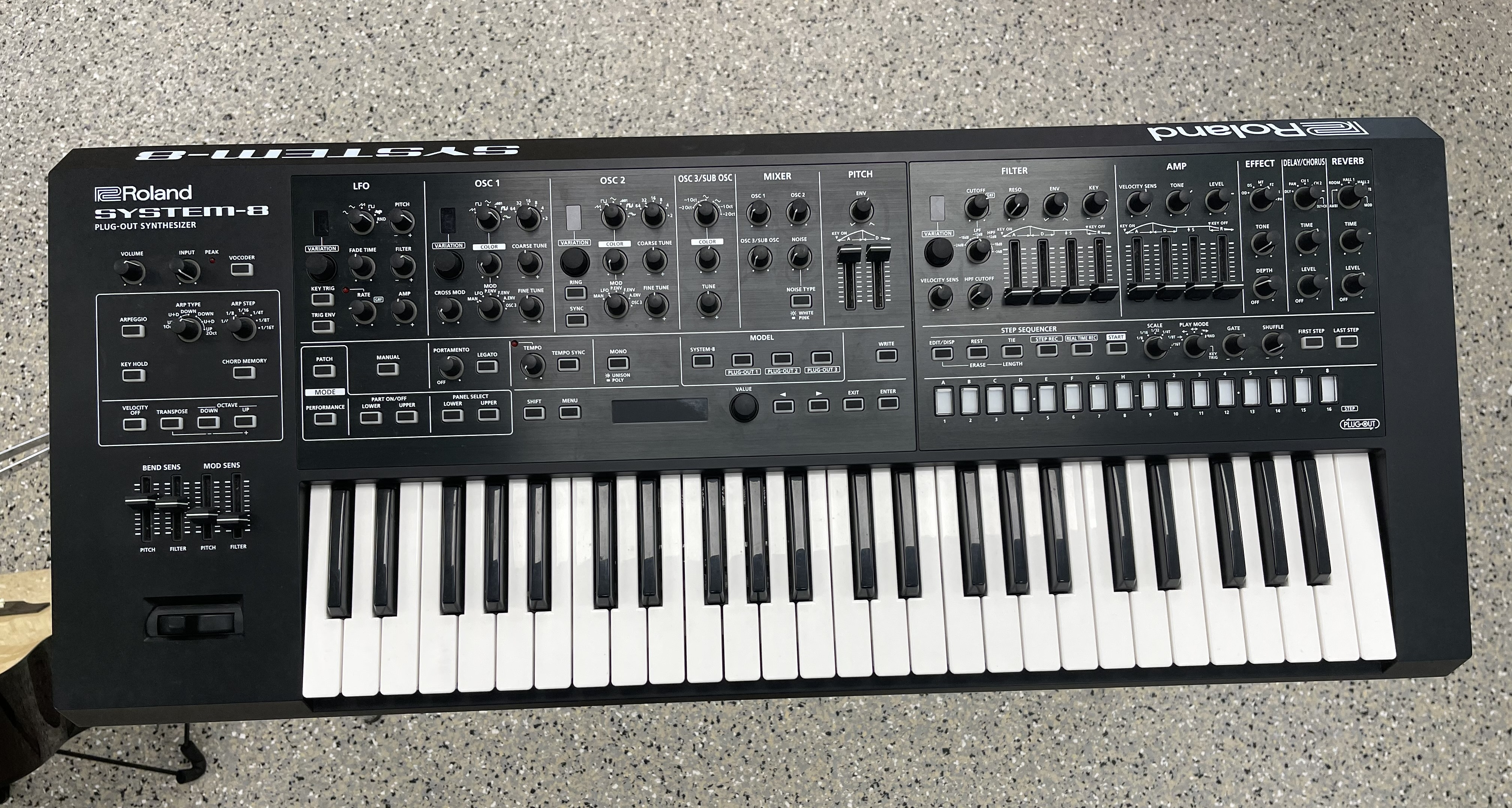 Roland System-8 Plug-Out Synthesizer - 49 Key