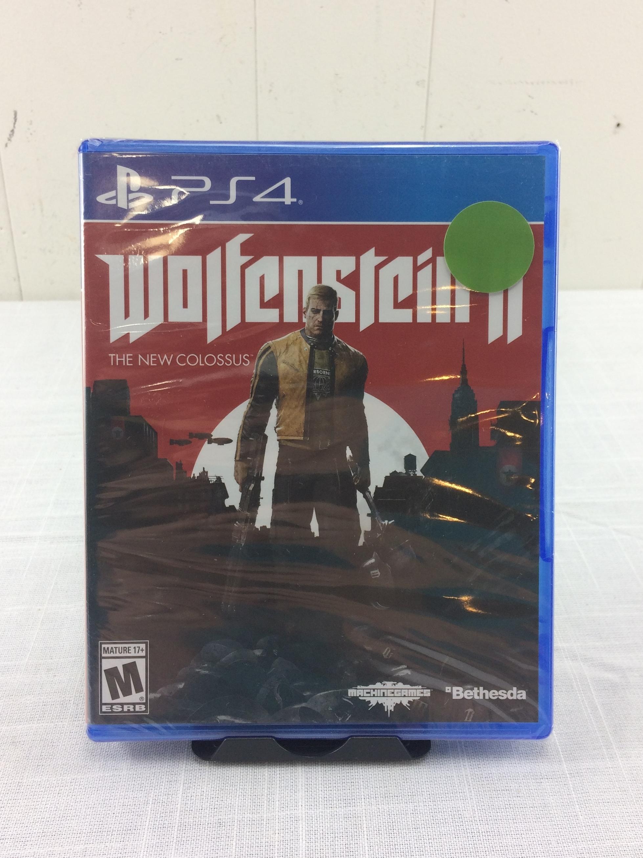 Wolfenstein 2 - Playstation 4 - New/Sealed