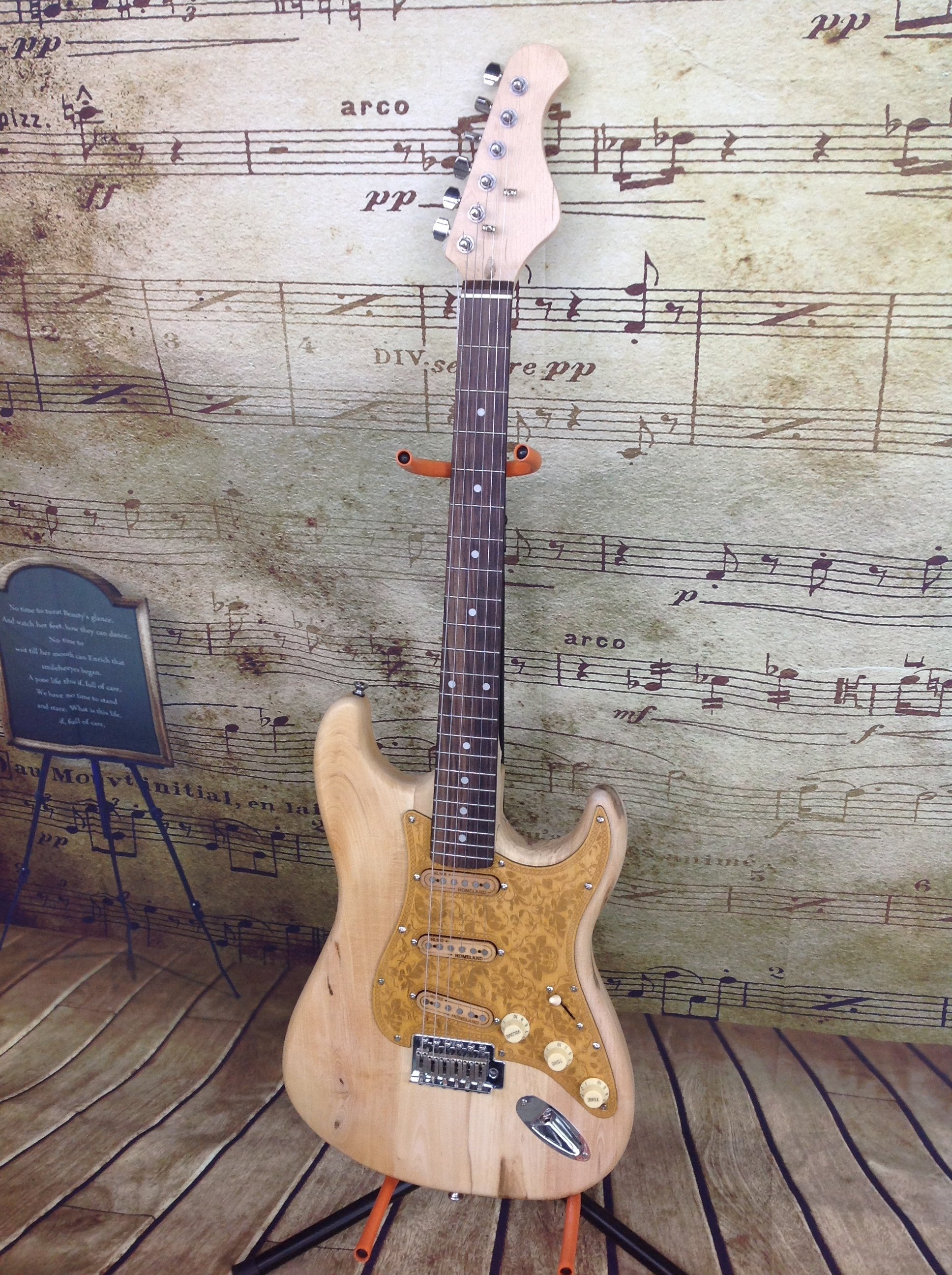 Electric Guitar Custom Built By Tracy Varner