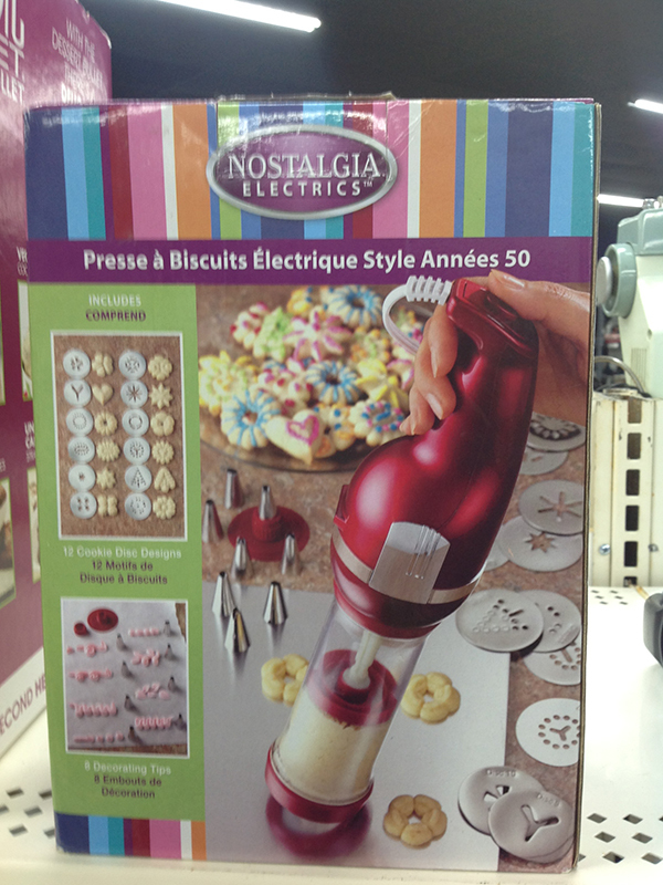 NOSTALGIA - COOKIE PRESS - --- OTHER --- APPLIANCE SMALL