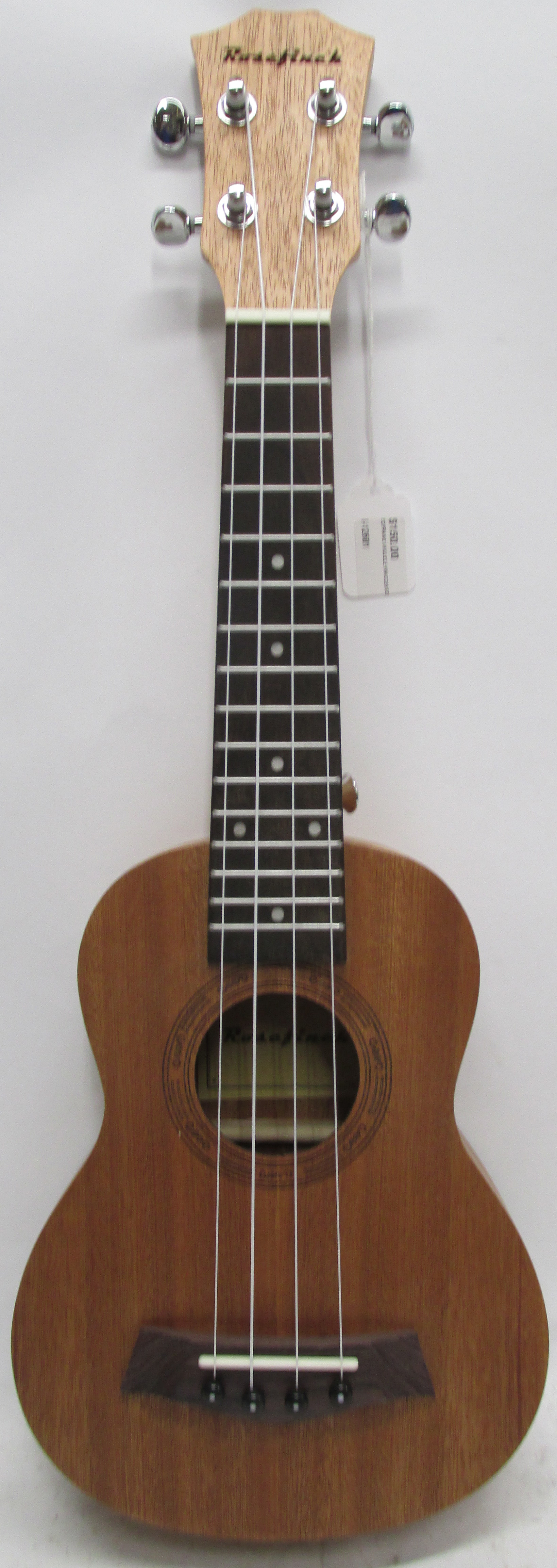 Rosefinch Soprano 4-String Ukulele with Accessories and Gig Bag