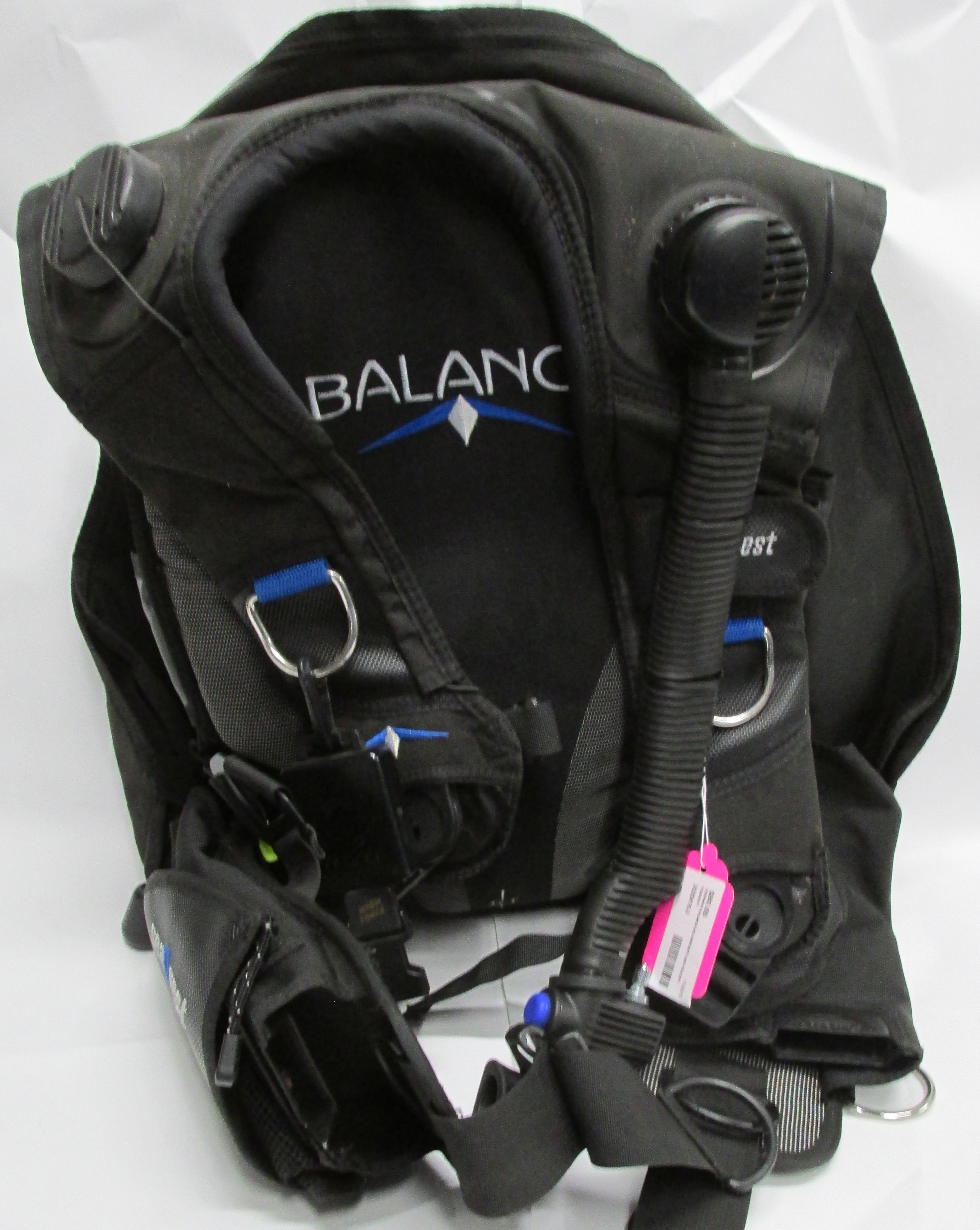Sea Quest Balance BCD Buoyancy Compensator with Pouches and Aqua Lung Carry Bag