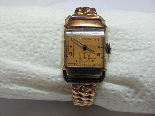 Vintage Imperial Watch - Possibly Circa 1940s - with Speidel Band - *Sold AS IS*