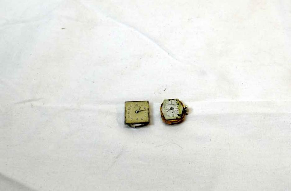 Lot of 2 Vintage Hamilton Ladies Watch Movements ONLY 22 & 17 Jewels Sold AS IS