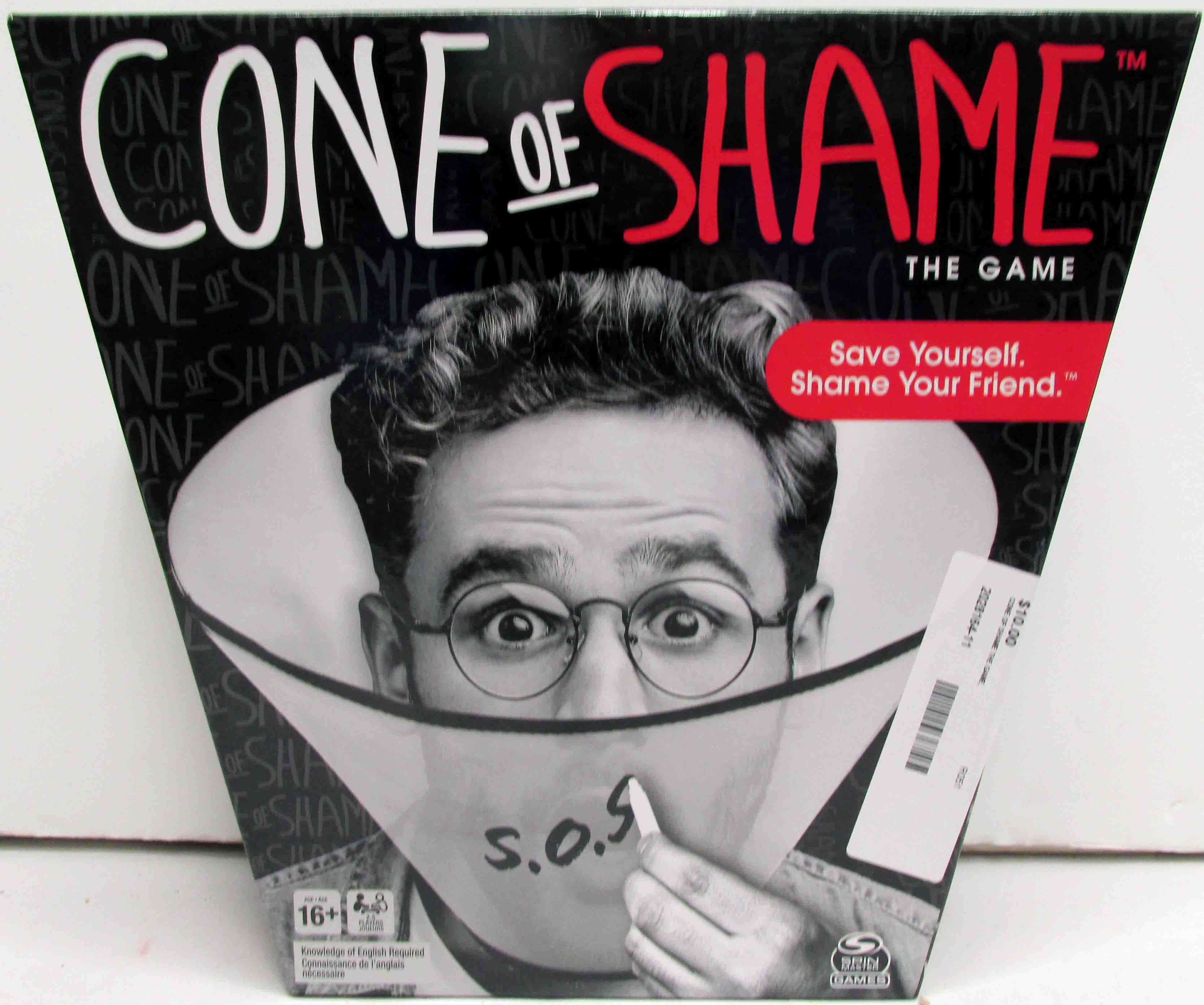 Cone of Shame The Game - NEW