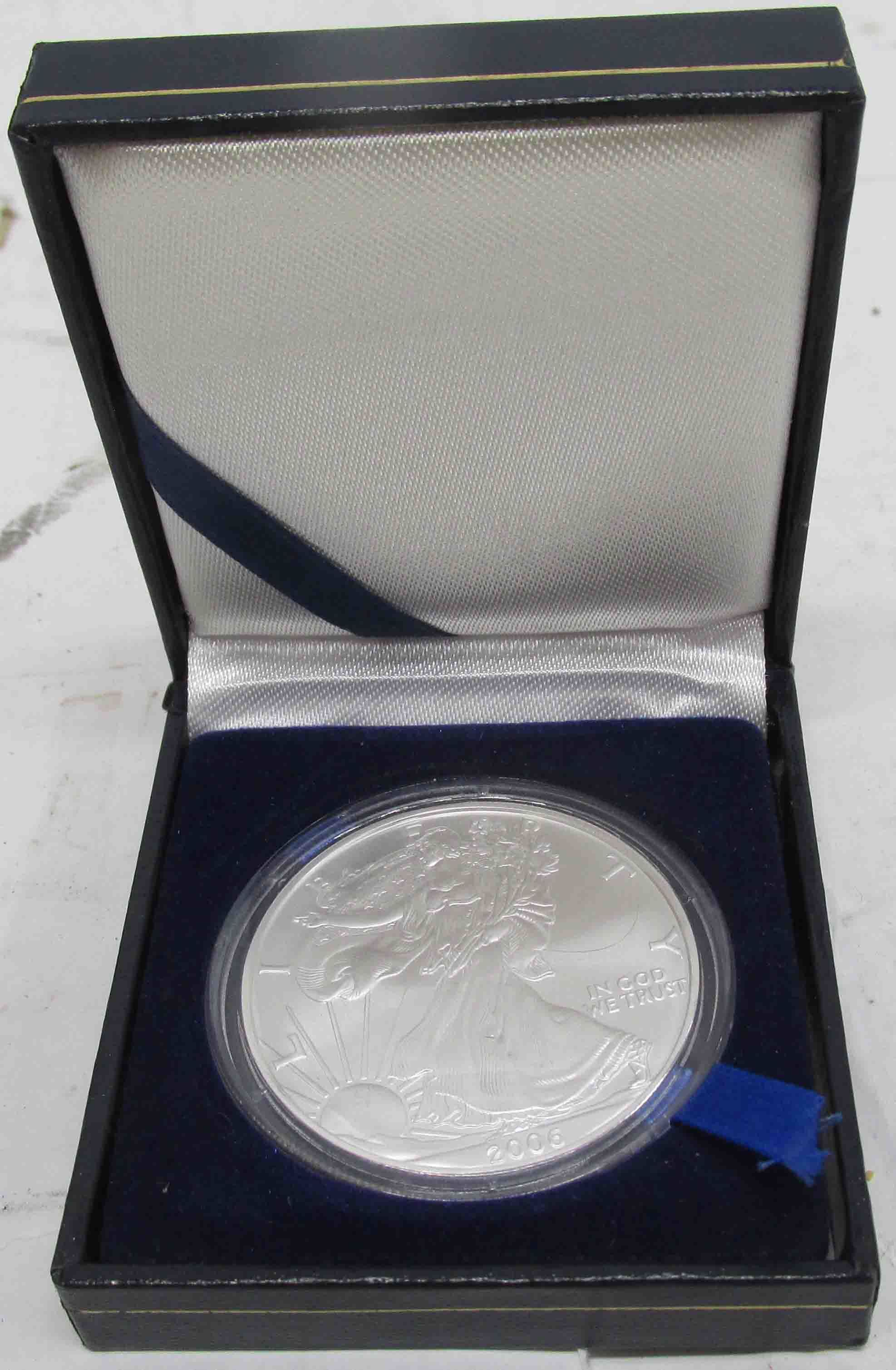 2006 1 oz Silver American Eagle Proof Coin in Display Box