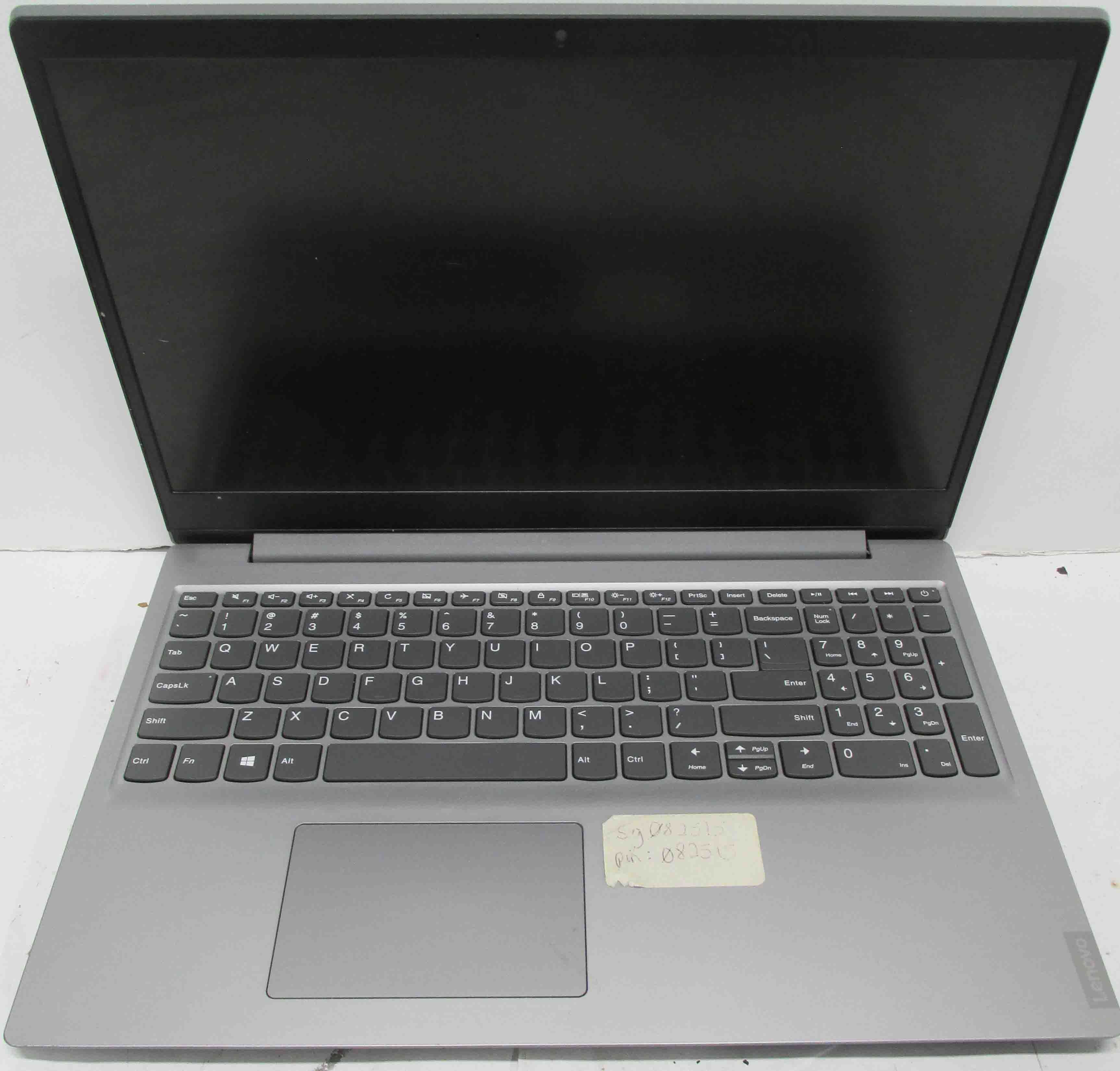 Lenovo Idea Pad S145-15API Laptop with Power Supply/Charger - 8GB RAM, 256GB SSD