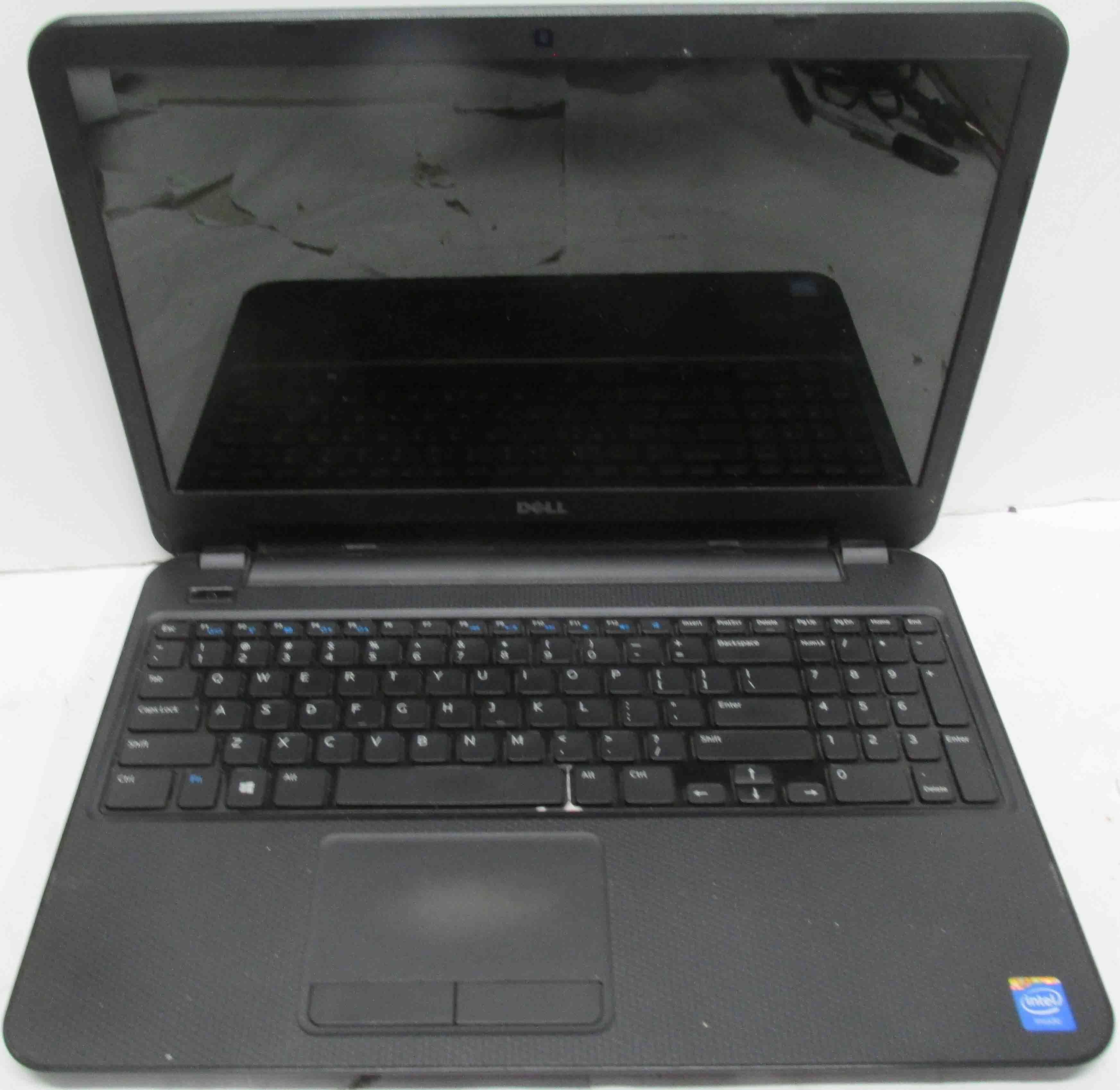Dell Inspiron 15-3531 Laptop with Charger - SOLD AS IS - **FIX OR PARTS**