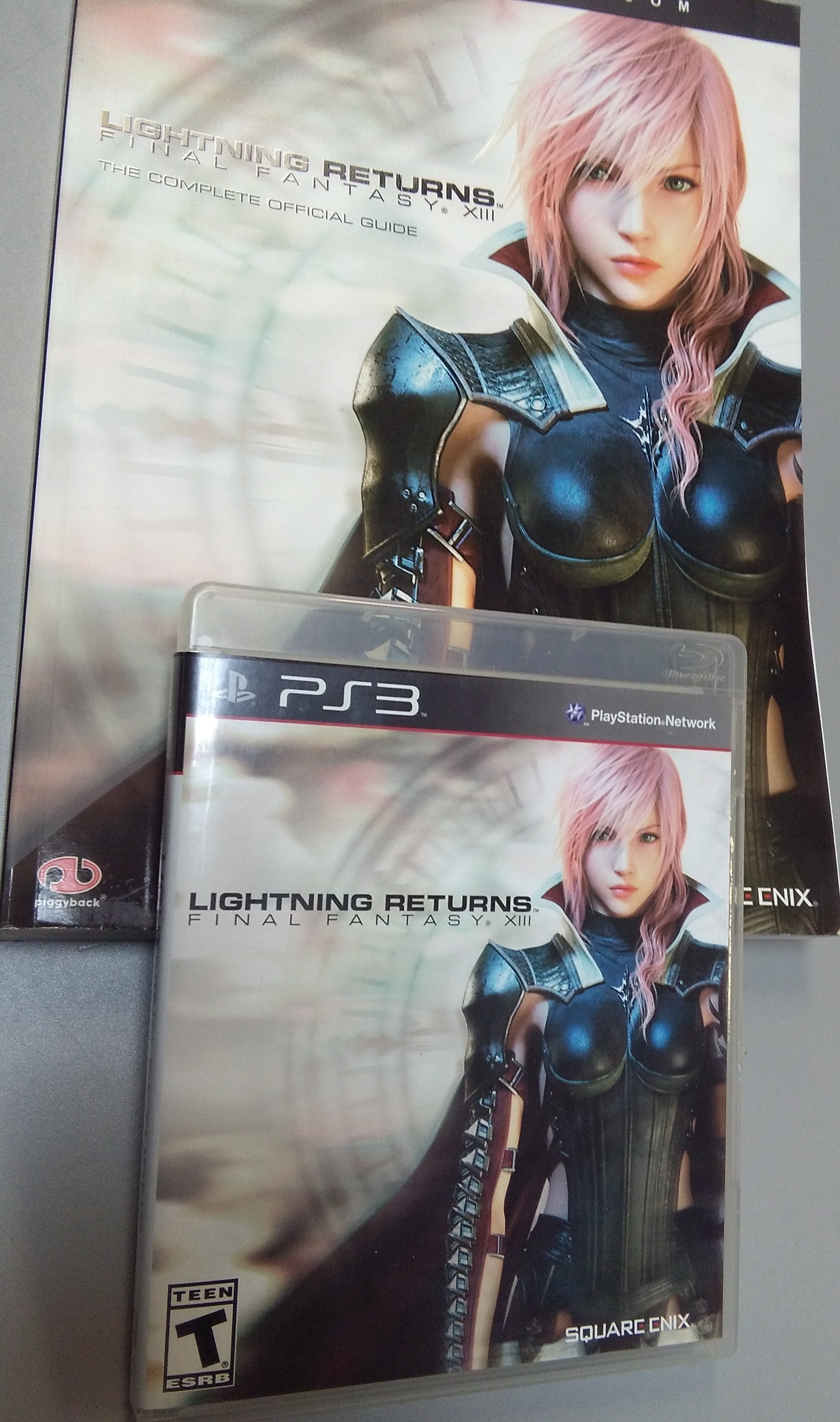 FINAL FANTASY XIII LIGHTNING RETURNS - PS3 GAME